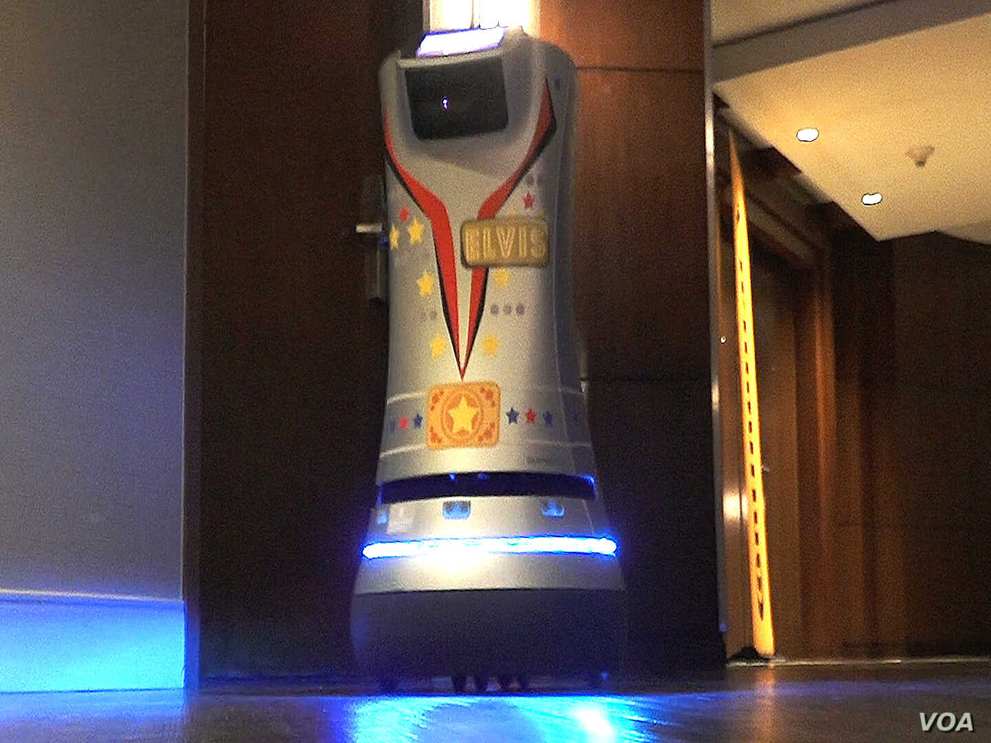 Delivery Robots Find Work in Hotels, Hospitals and Beyond