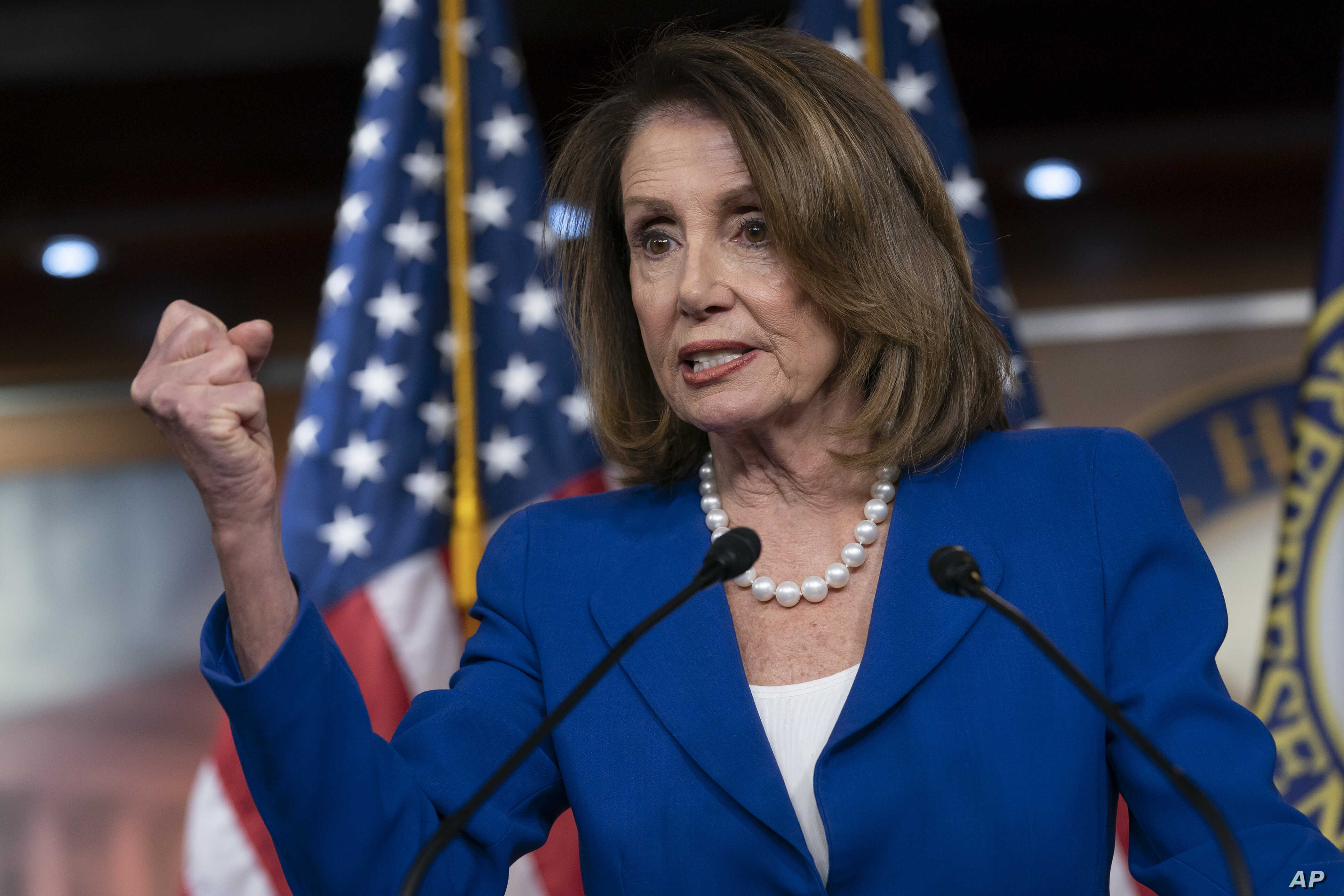 """House Speaker Nancy Pelosi heaps scorn on Attorney General William Barr, saying his letter about special counsel Robert Mueller's report was """"condescending,"""" after Barr concluded there was no evidence that President Donald Trump's campaign """"conspired..."""