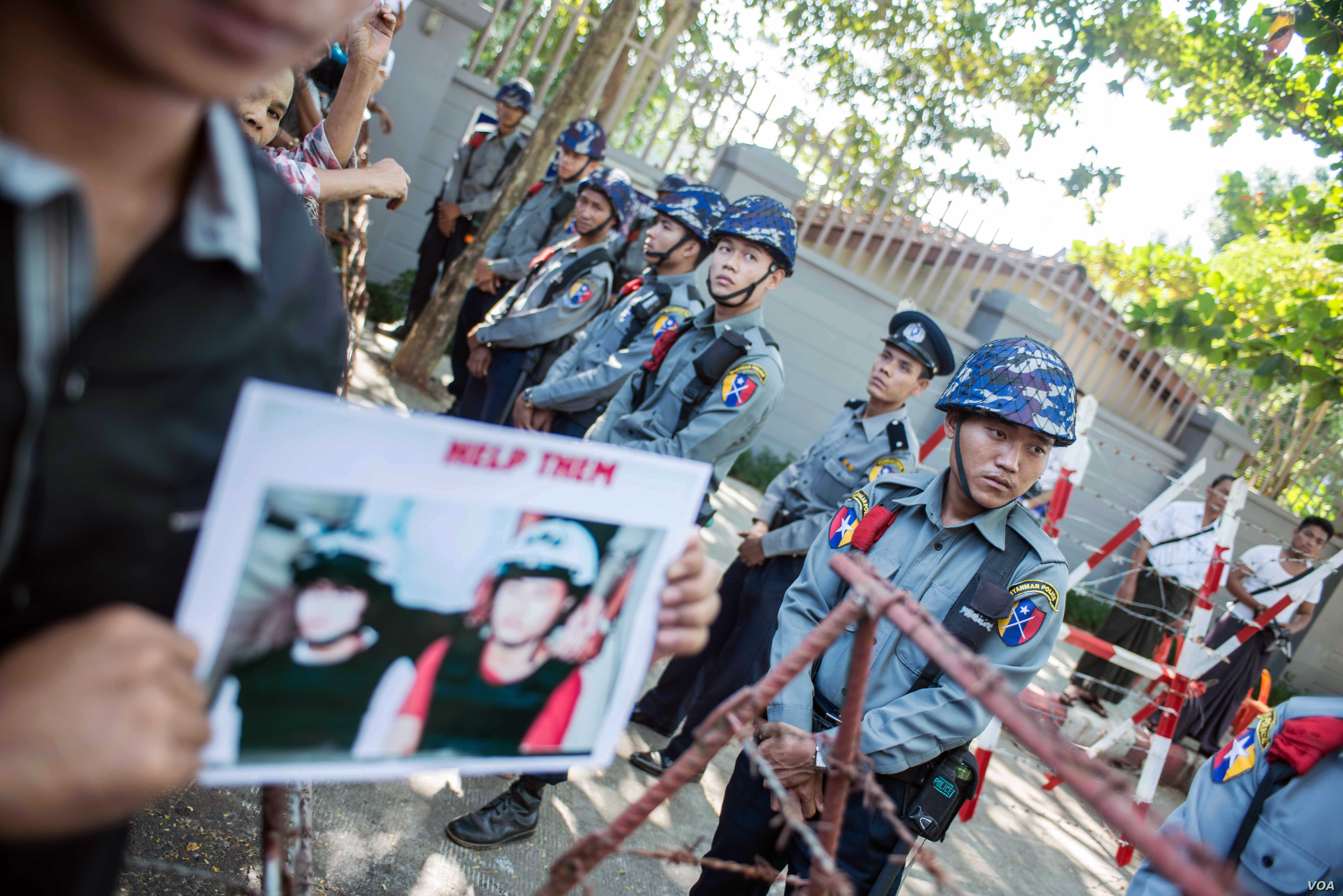 EU Defends Training of Myanmar Police After Alleged