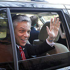 Former Utah Gov. Jon Huntsman, January 16, 2012.