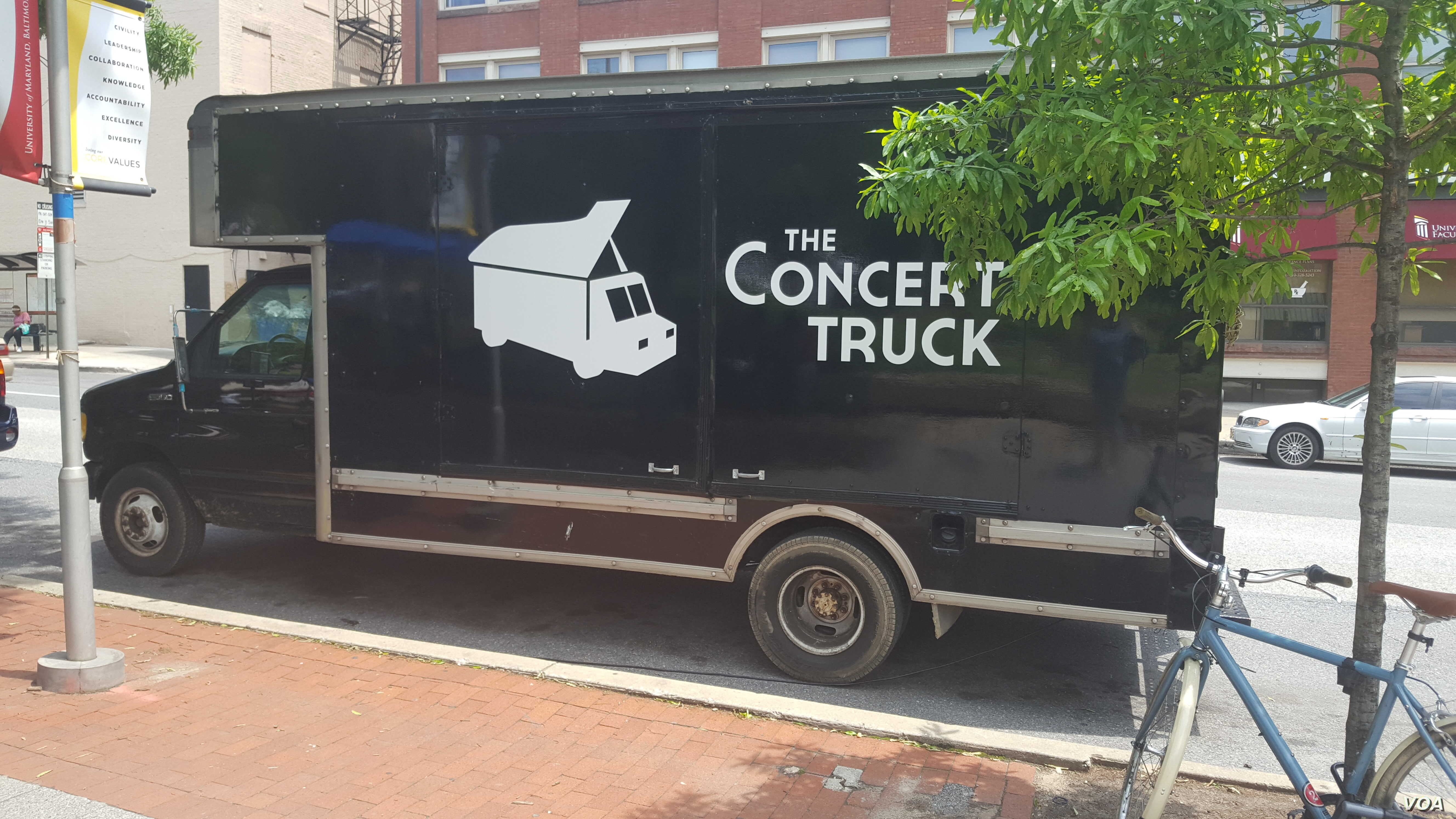 The Concert Truck is classical performance on wheels.