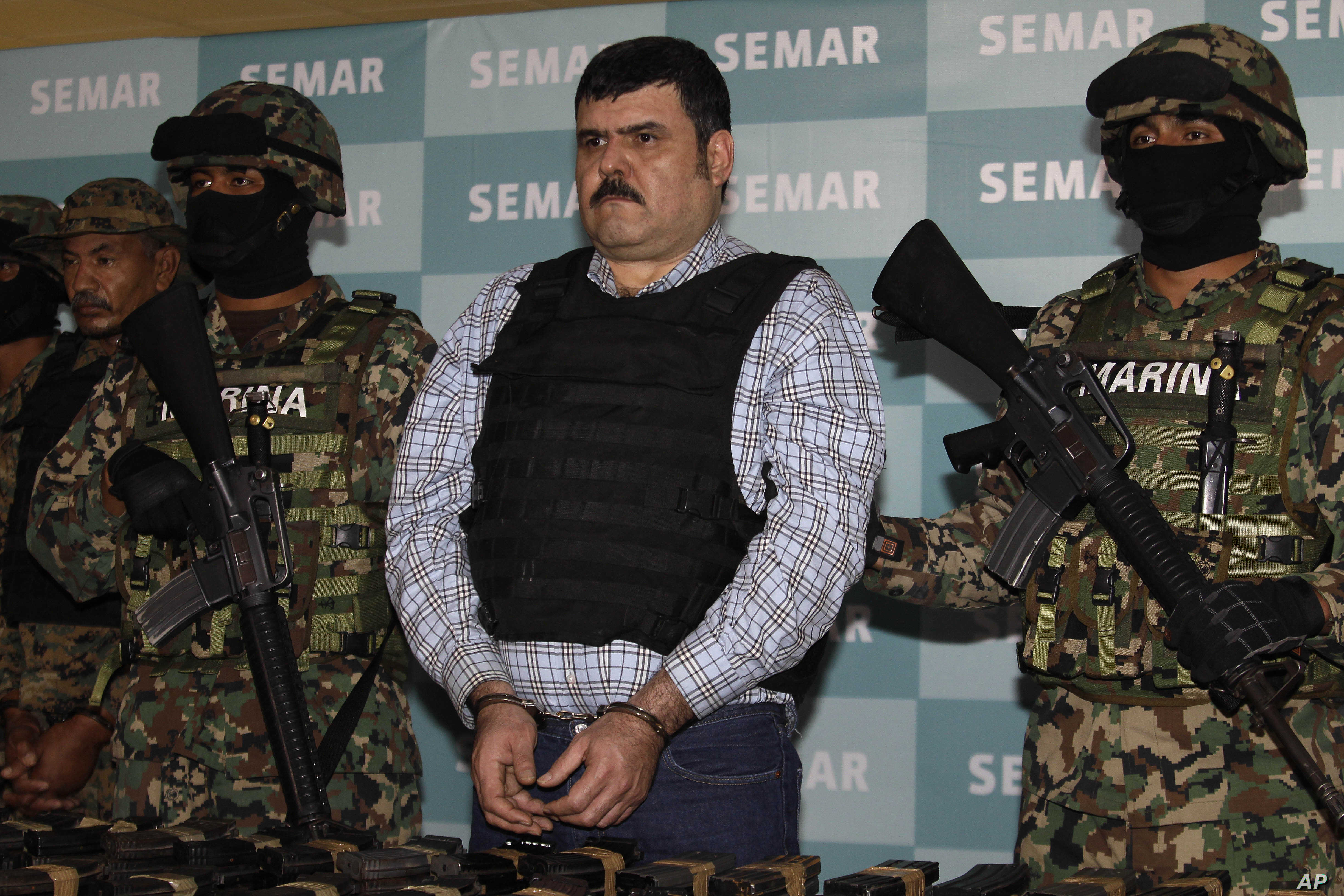 Alleged Mexican Drug Lord Captured by Military | Voice of