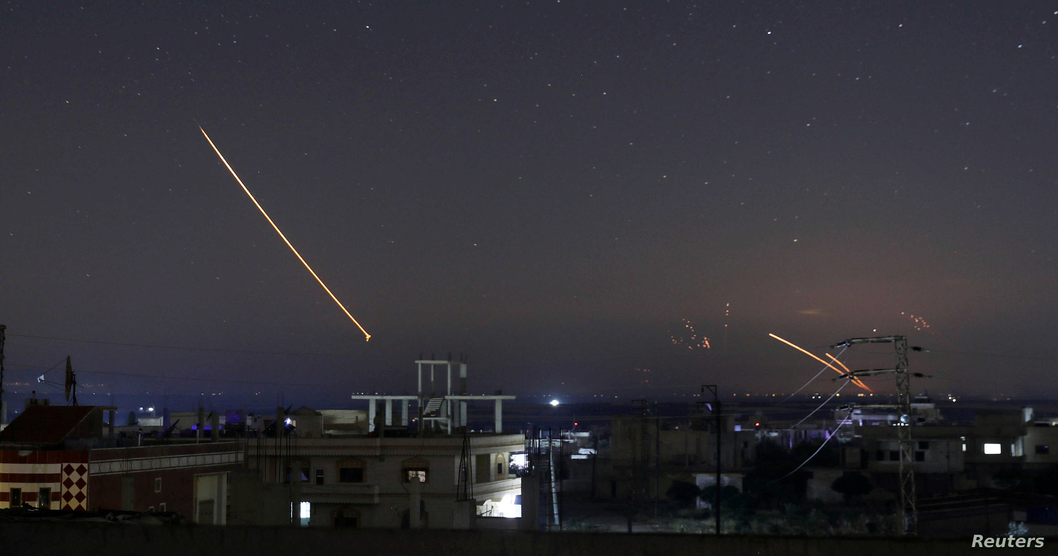 Israel Attacks More Than 50 Iranian Targets in Syria | Voice