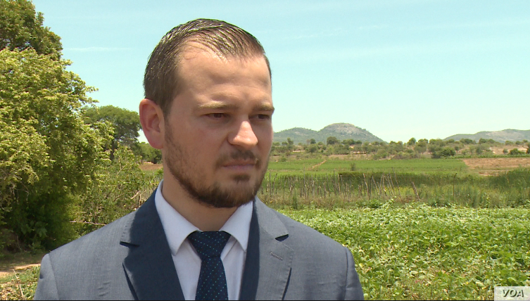 Vangelis Haritatos, Zimbabwe's junior minister of agriculture, says President Emmerson Mnangagwa's government wants to revive the farm sector, which was once the backbone of Zimbabwe's economy.