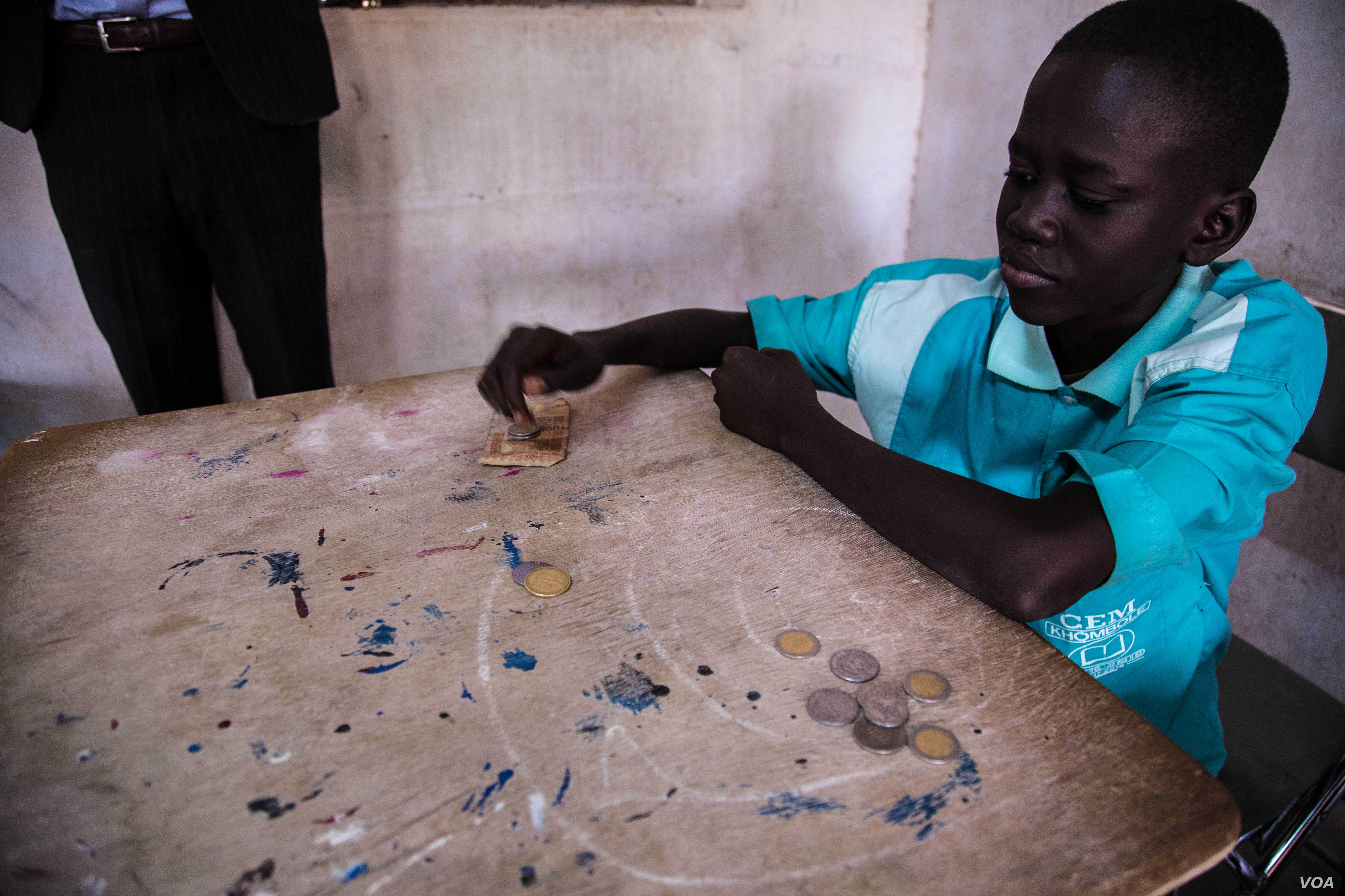 Financial literacy is another skill being incorporated by 250 secondary and vocation schools across Senegal this year. (Photo: Chika Oduah for VOA)