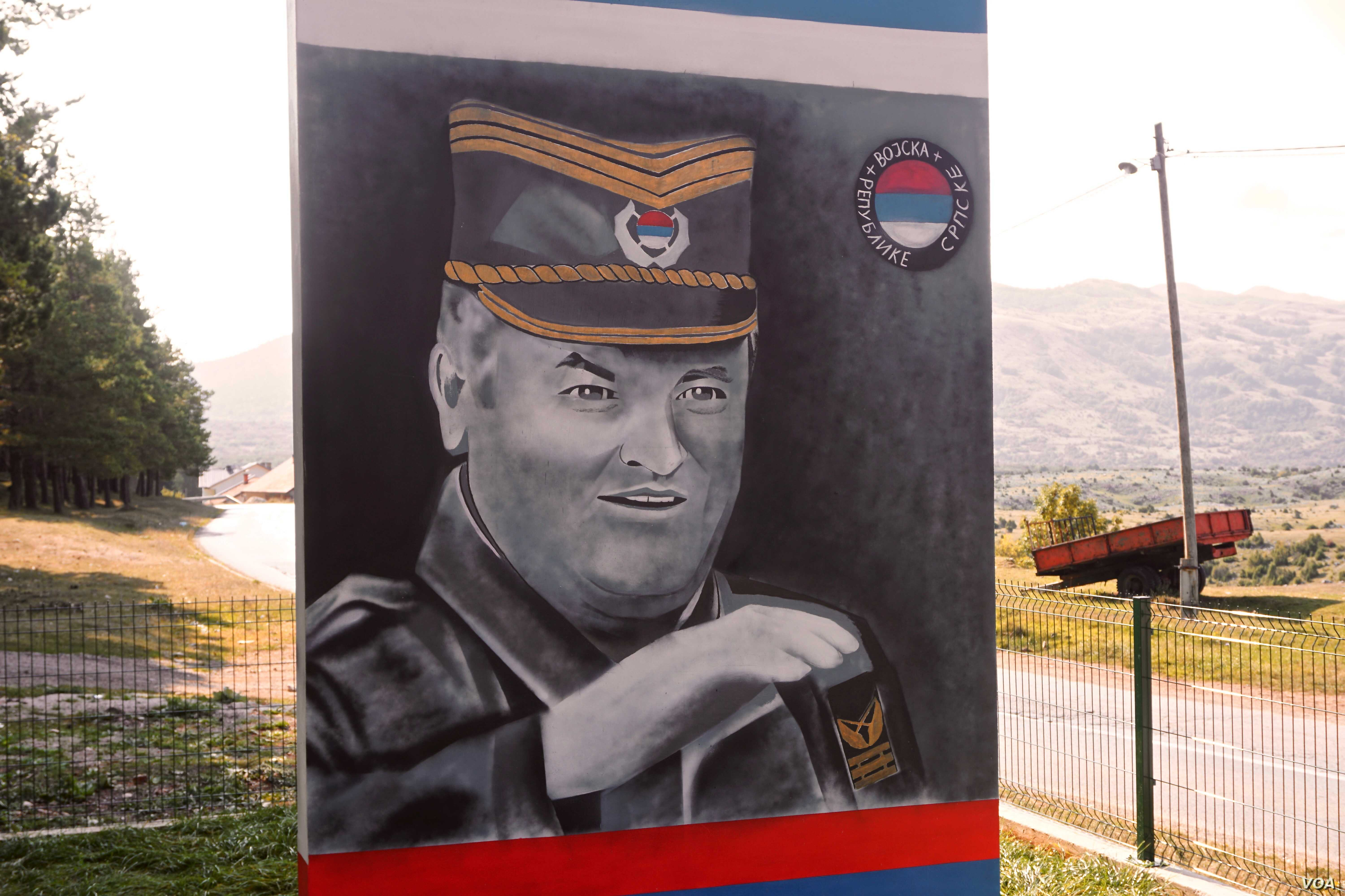 """Ratko Mladić: The 1995 Srebrenica massacre was carried out by units of the Bosnian Serb Army of Republika Srpska under the command of Ratko Mladić. This month his supporters erected a mural lauding him as a """"Serb hero"""" in his hometown of Kalino..."""