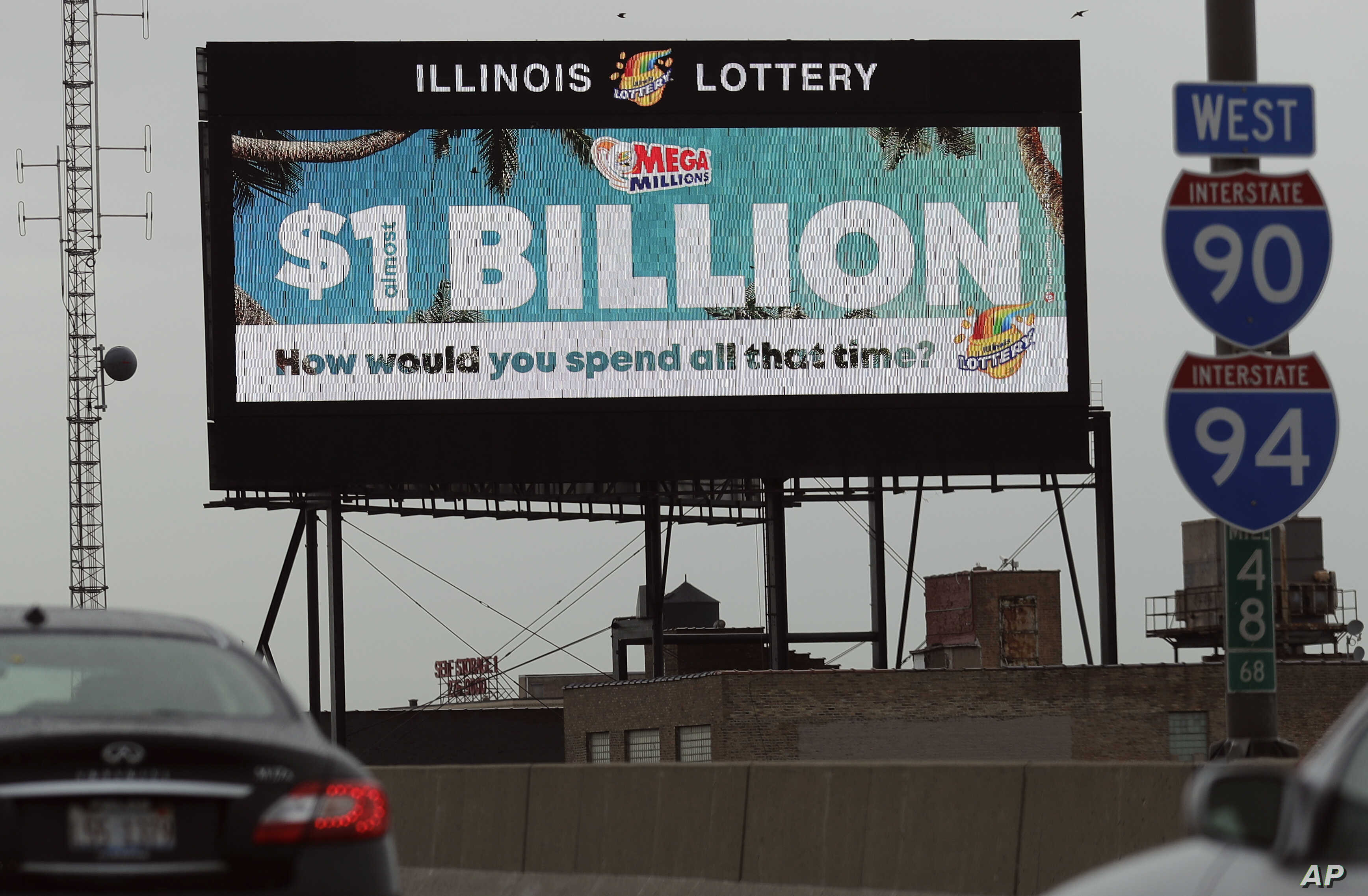 Numbers Announced in $1 Billion US Lottery Drawing | Voice