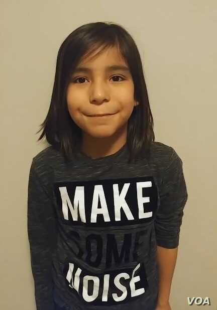 Mylon McArthur, Cree, age 8, from Alberta, Canada, elected to cut his hair in October 2017 in the face of bullying by classmates. Today, he is growing his hair back again. Courtesy, Tiya-Marie Large.