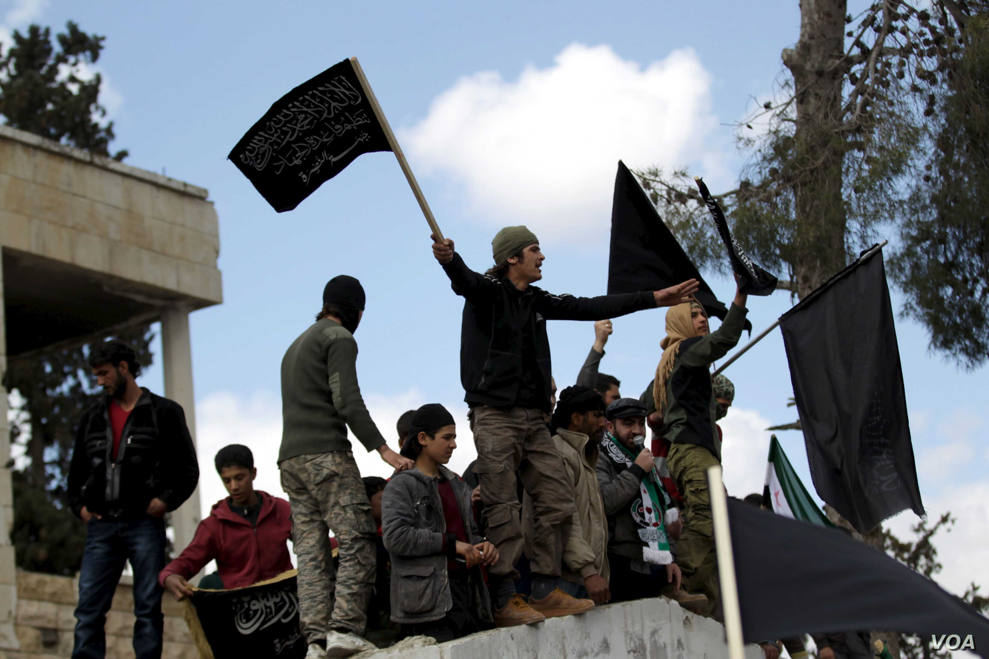 Syria's Pro-Democracy Protesters Show Renewed Defiance in Face of