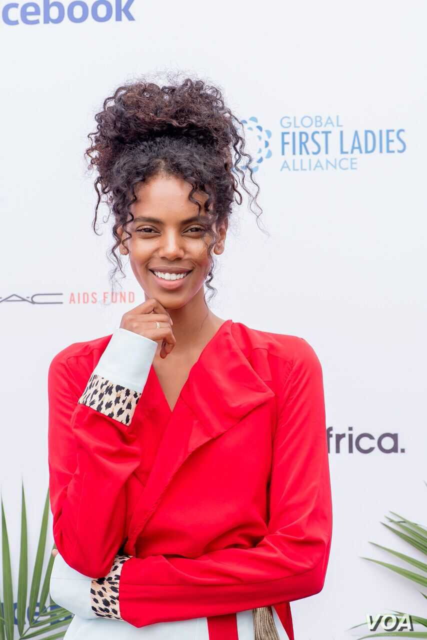 Grace Mahary, who founded Project Tsehigh to bring solar lighting to homes in Eritrea, said social media provided a unique opportunity for female leaders. She said it's important for women to see female role models.
