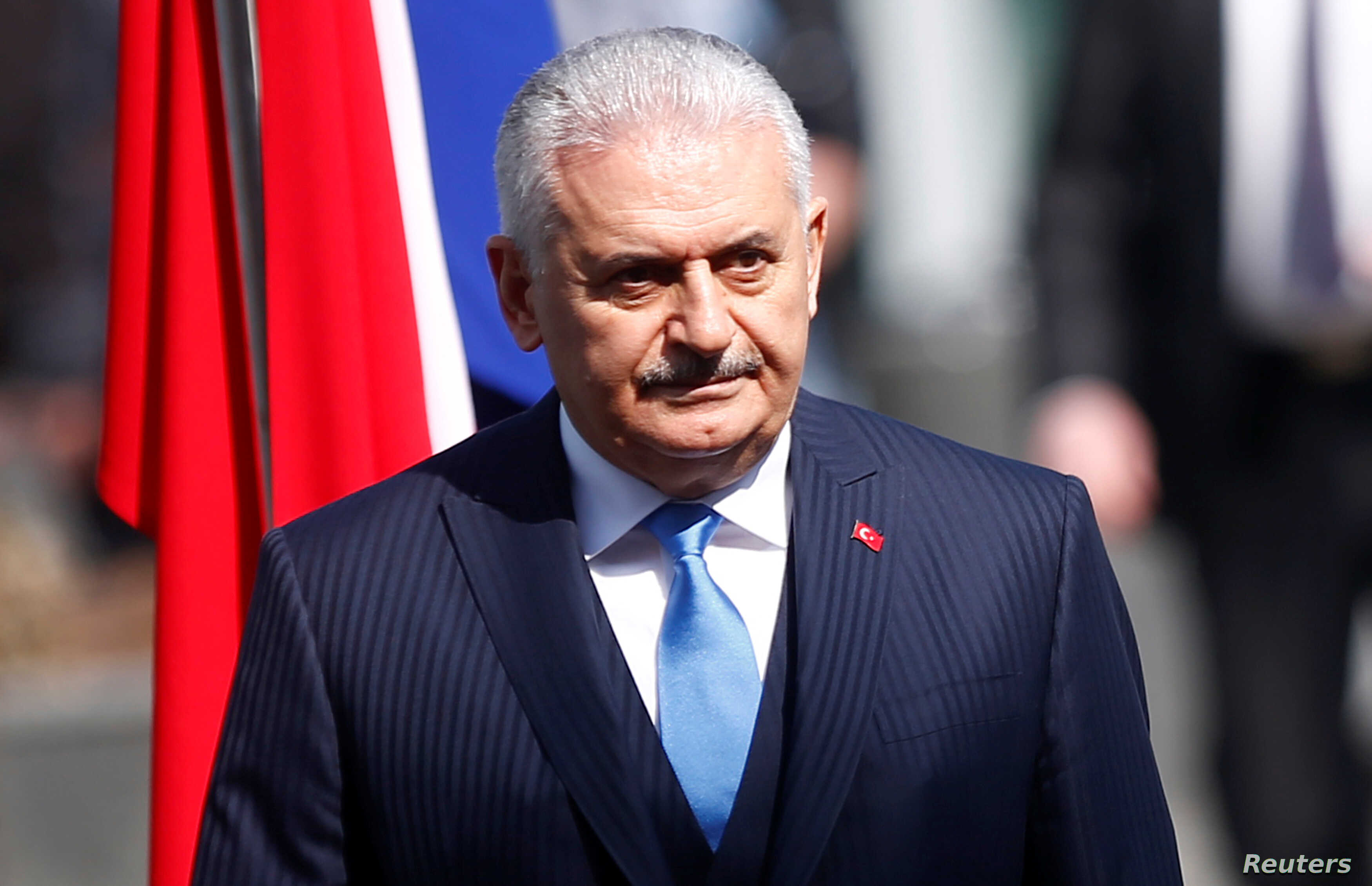 Turkish Prime Minister Binali Yildirim is seen during a visit to Sarajevo, Bosnia and Herzegovina, March 29, 2018.