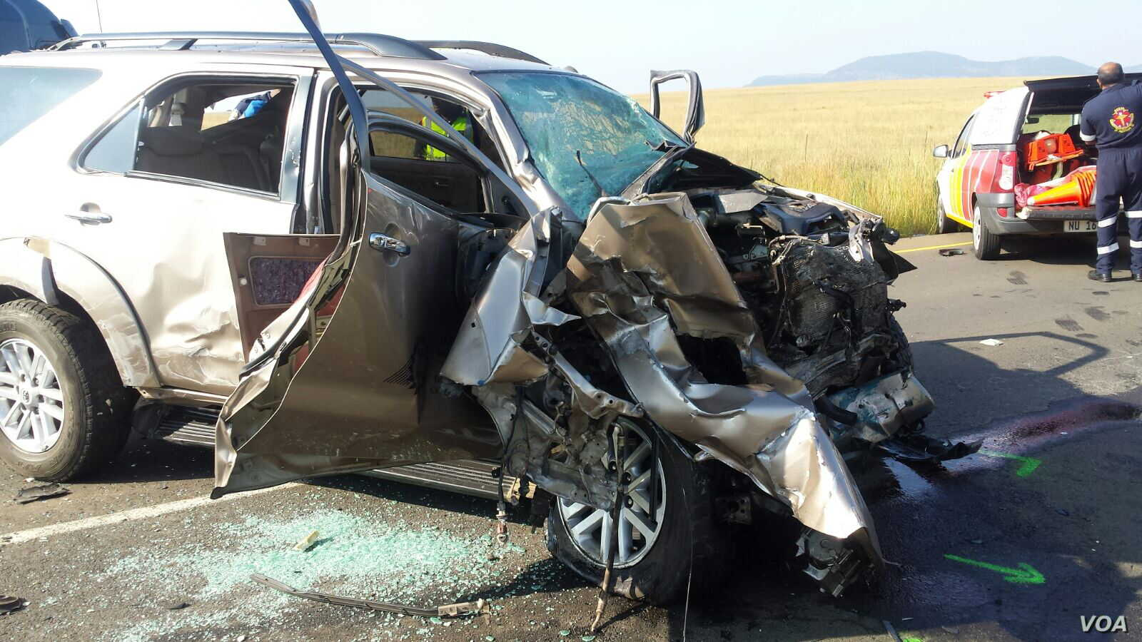 South African Road Accidents on Rise | Voice of America - English