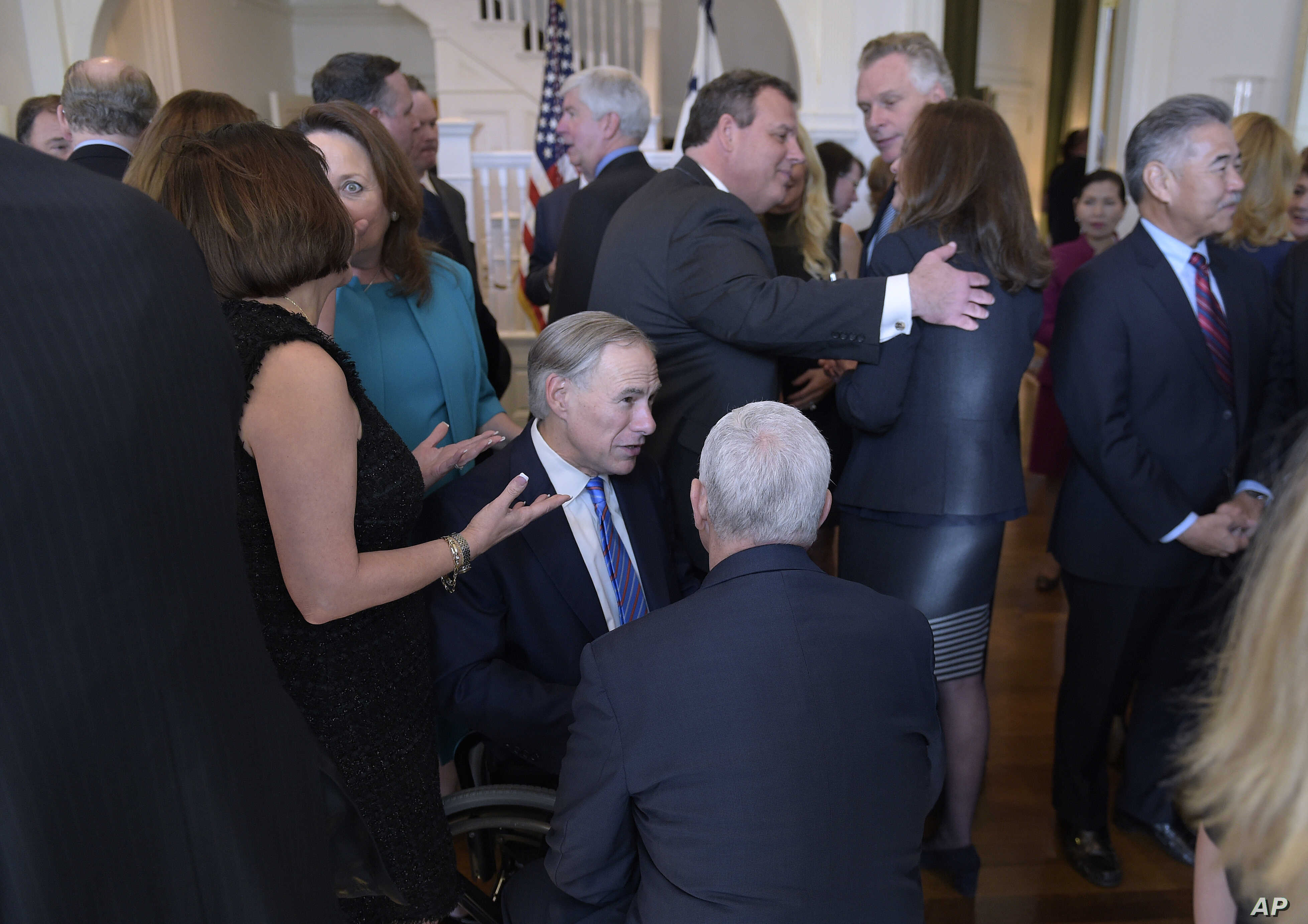 Pence Governors Meeting