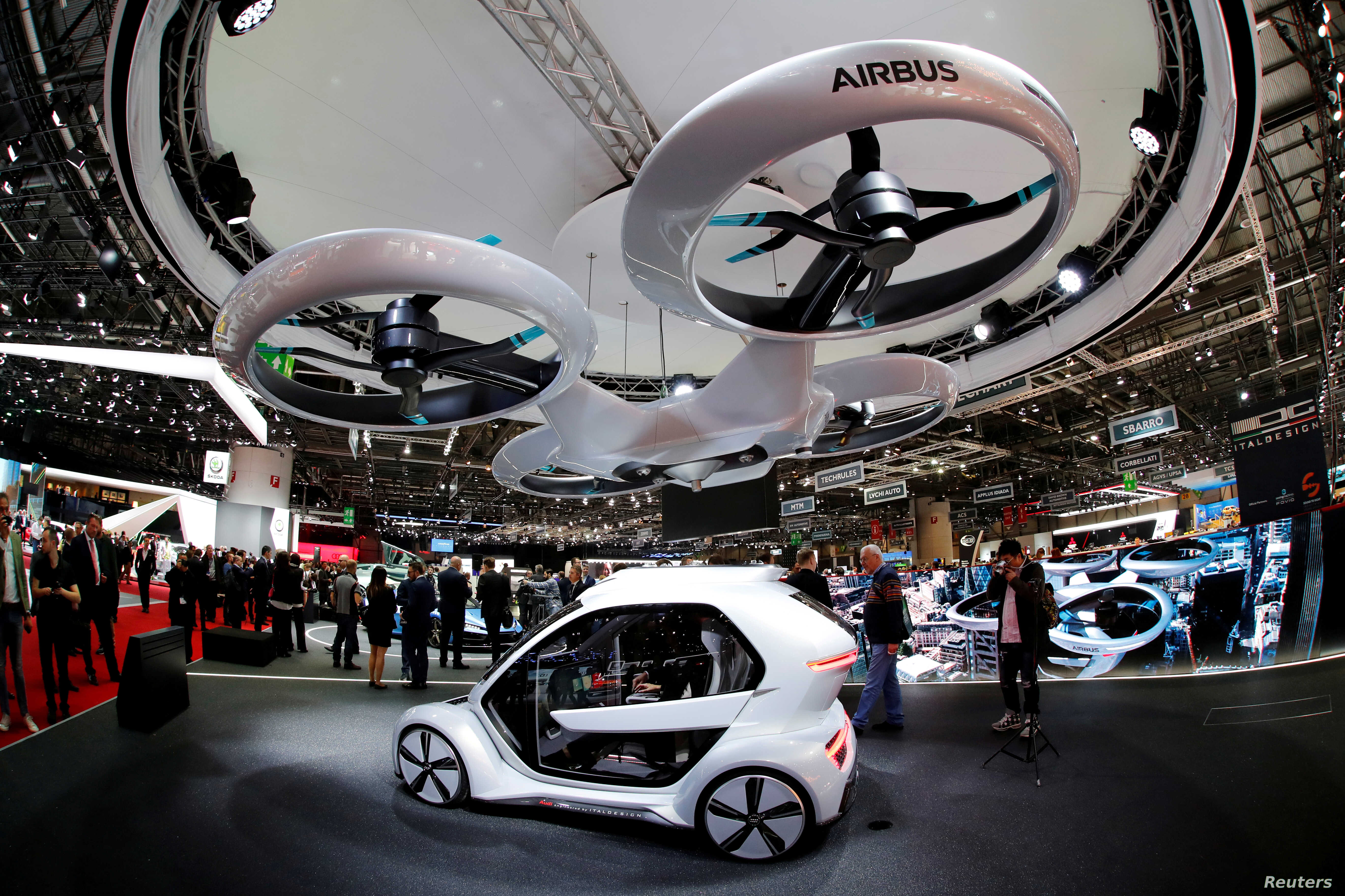 Porsche Says Flying Cab Technology Could Be Ready Within