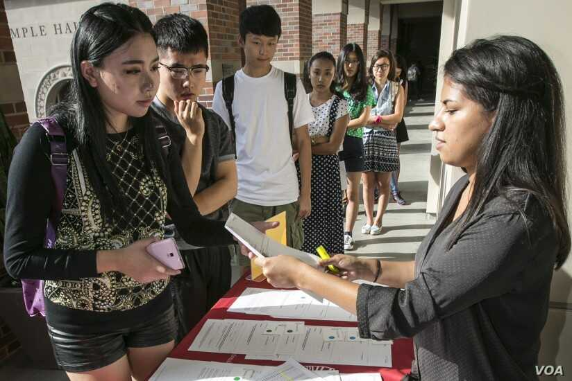 Rate of Foreign Students Staying to Work in US Slows | Voice