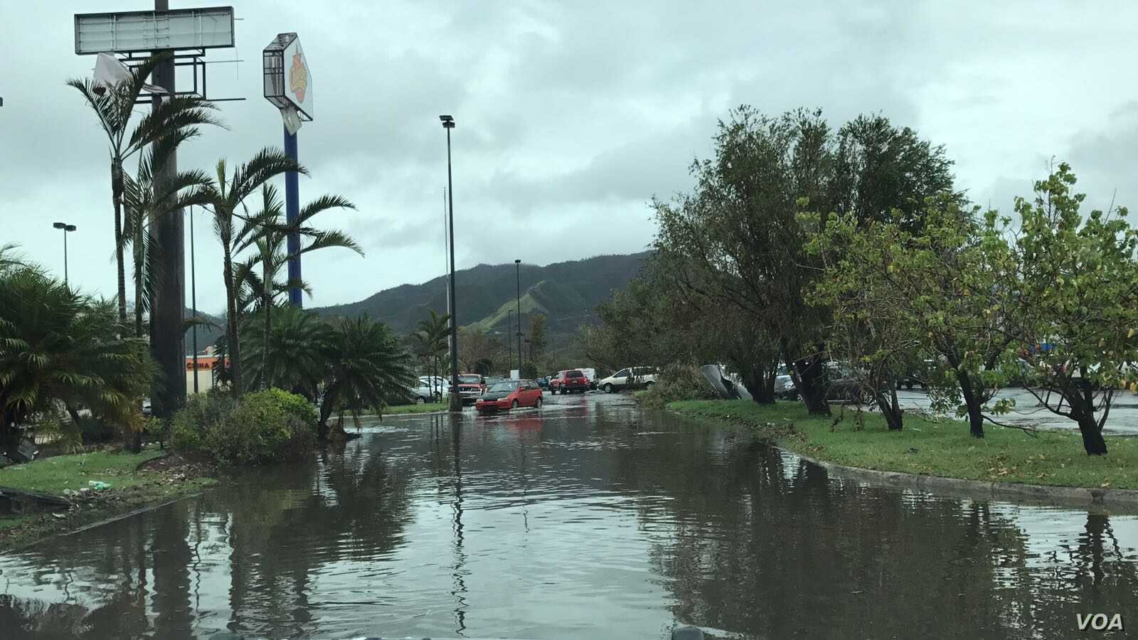 Standing water in Ponce, Puerto Rico, poses health risks for its residents more than a week after Hurricane Maria devastated the island.