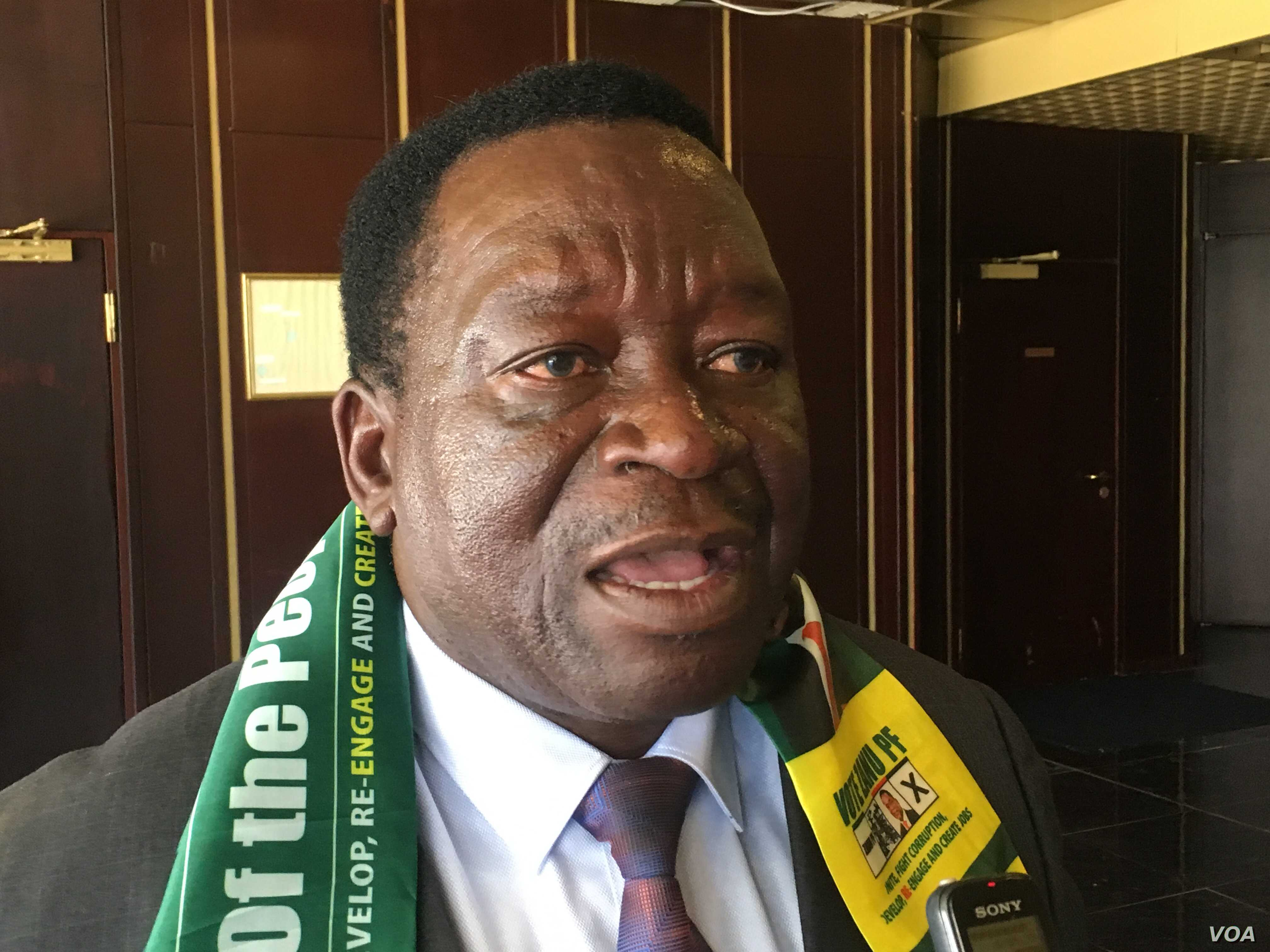 Pro-Mnangagwa War Veterans Accuse US of Interference in