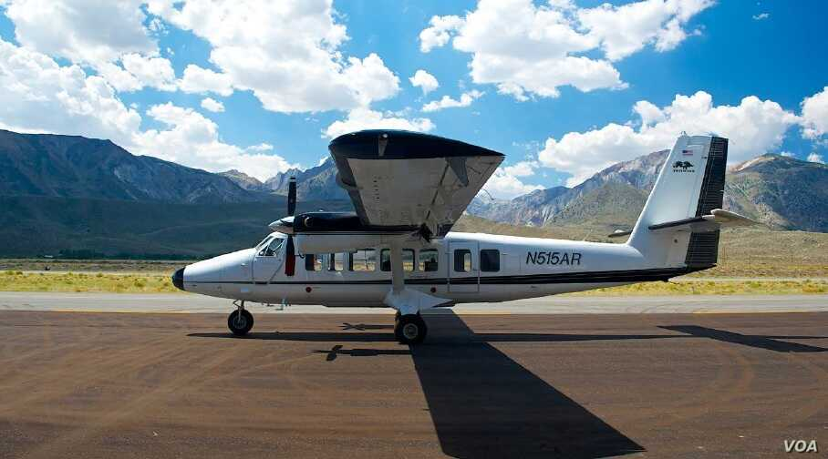 California will fine tune its snowpack measurements using new instruments on aircraft that can give water managers accurate data on snow accumulation and rate of melt. (NASA)