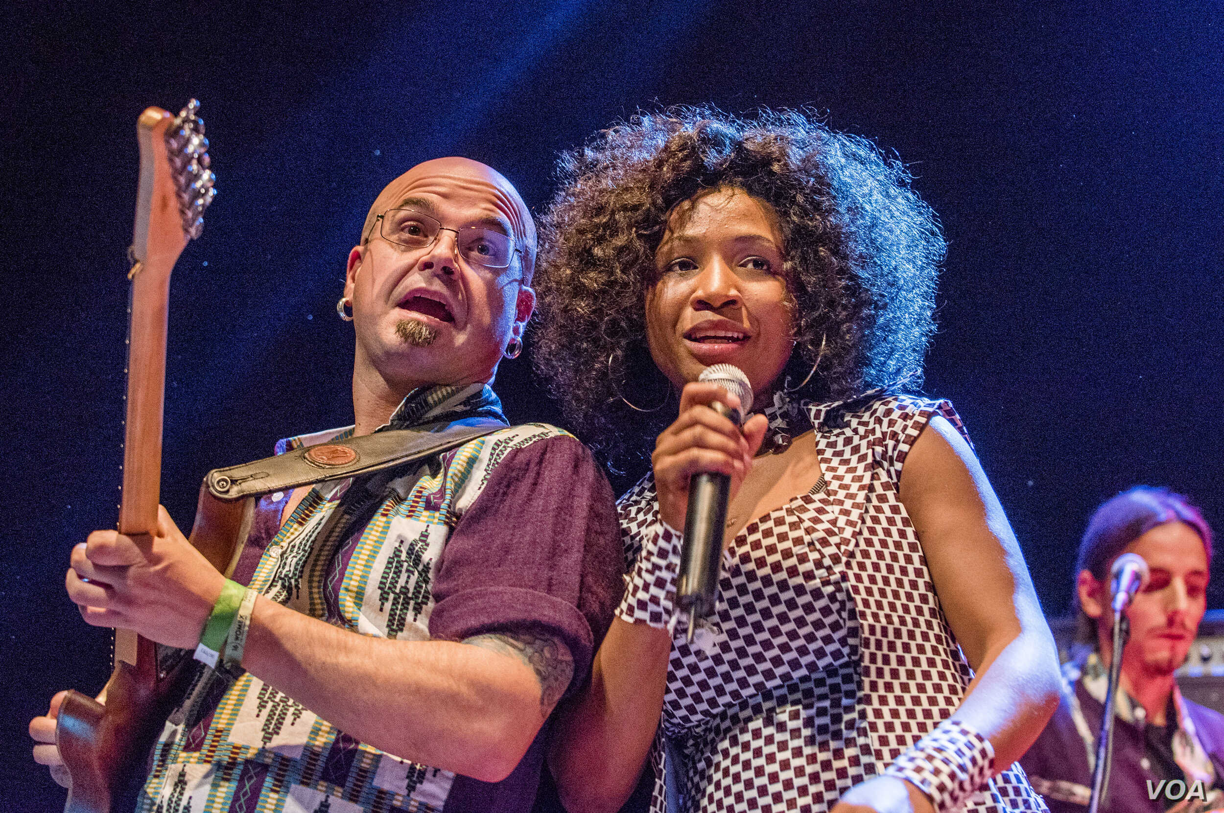 Nakany Kanté  performs at the WOMEX World Music Expo in Santiago de Compostela, Spain in October 2016.