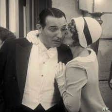 """The silent film, """"The Artist,"""" is nominated for 10 Academy Awards, including best picture, best actor and best supporting actress."""
