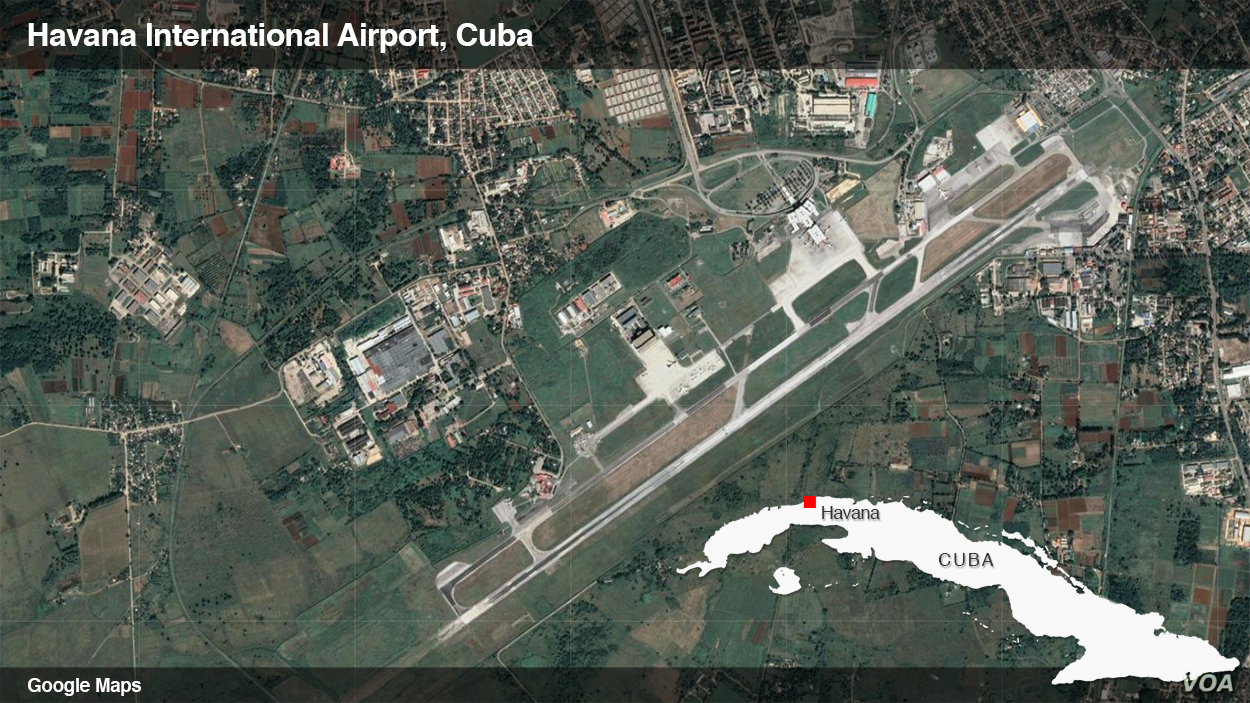 Havana international airport