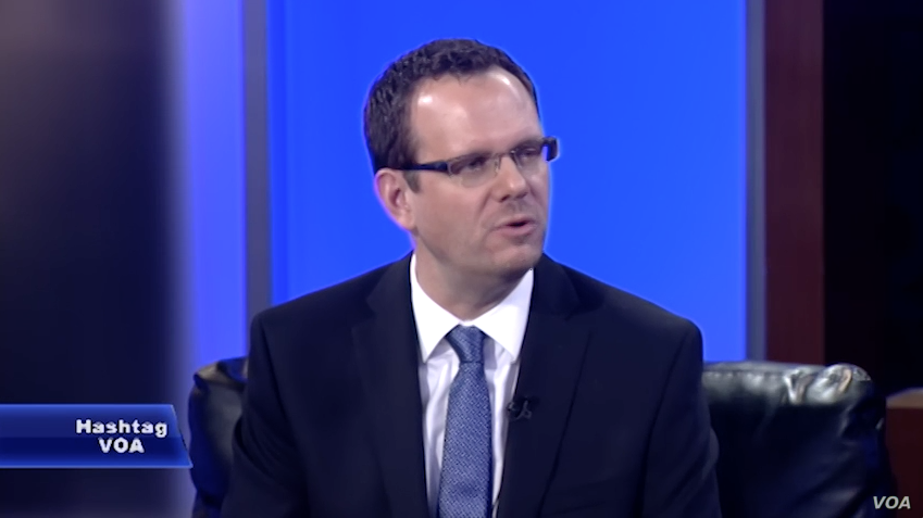 Washington-based international sport lawyer David Larkin appears on VOA.