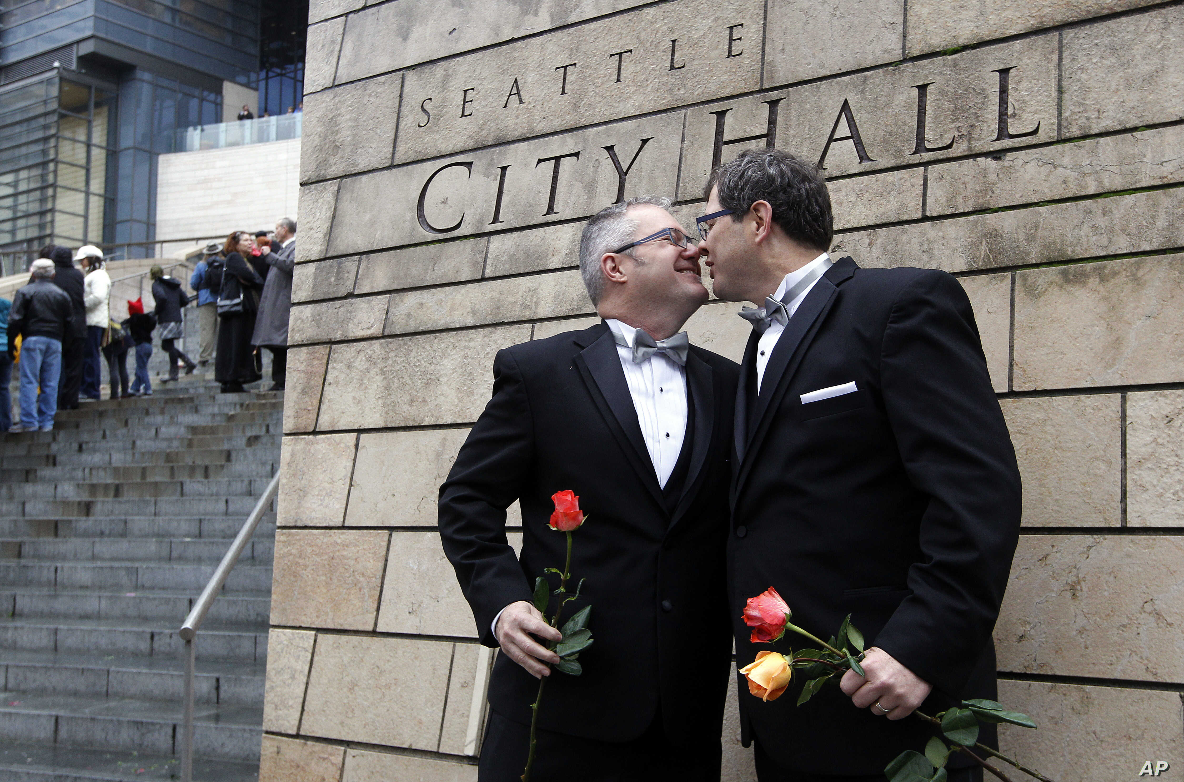 First gay marriage in dc