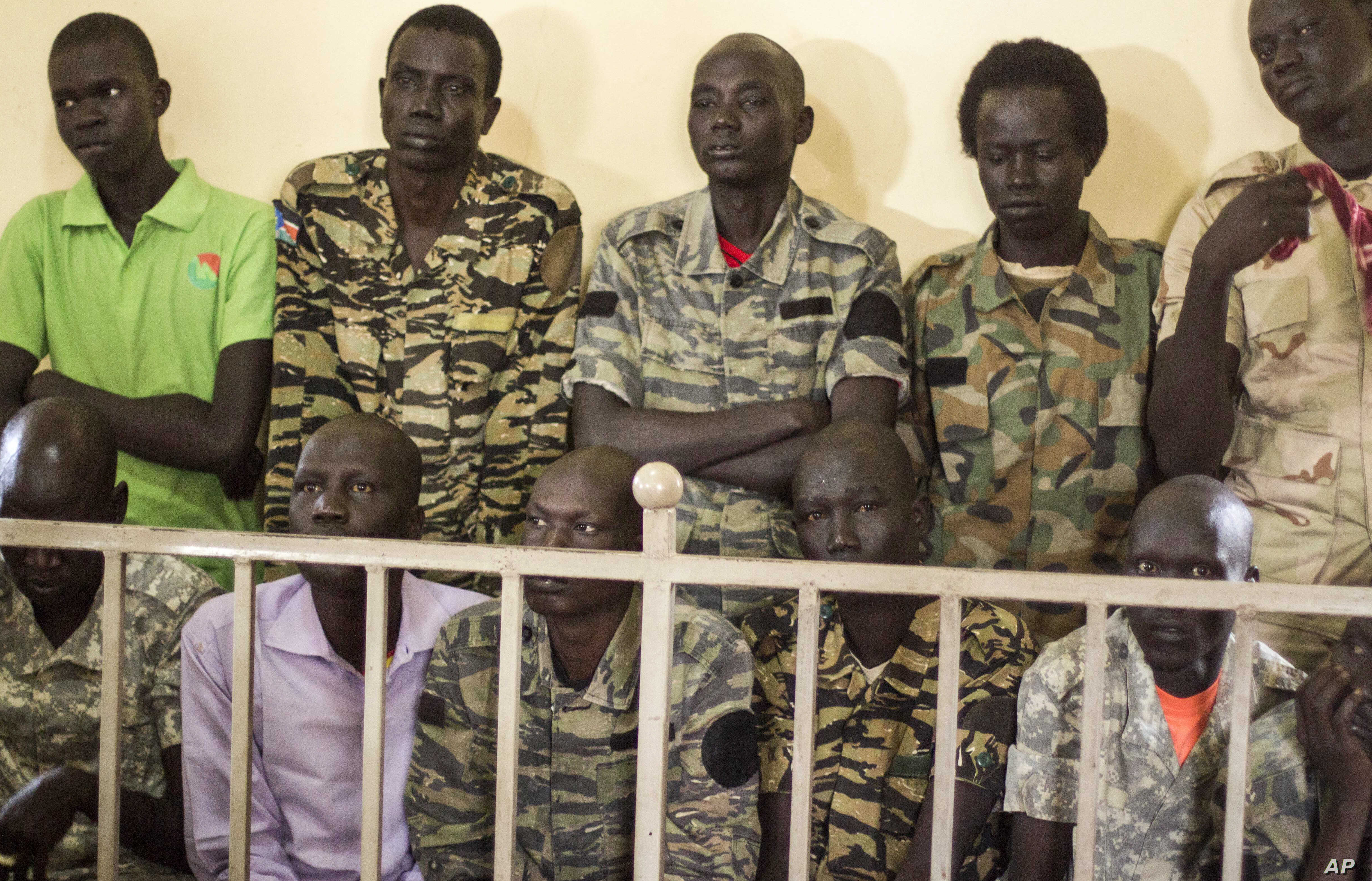 S  Sudan Soldiers Sentenced for Crimes During '16 Hotel Raid