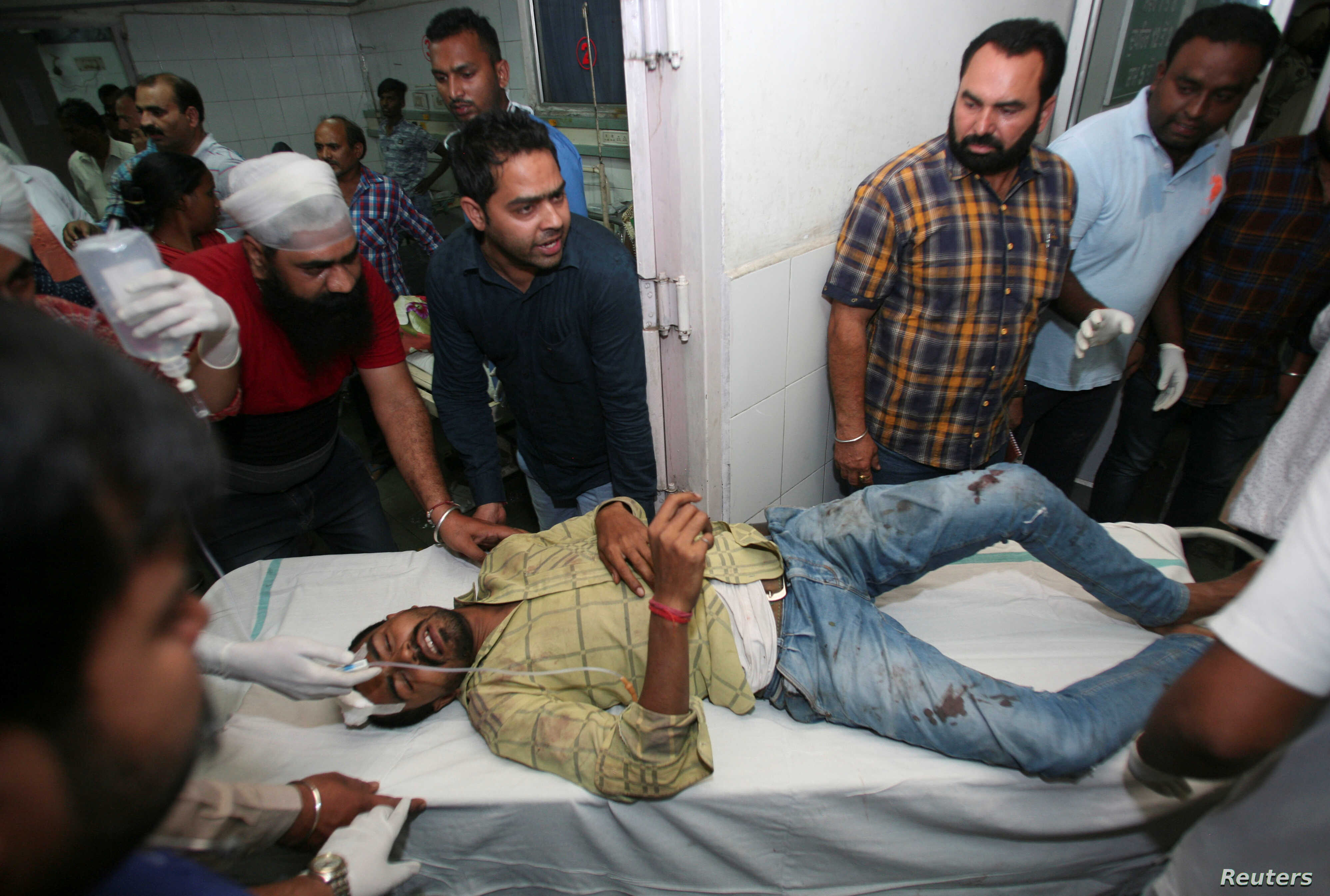 At Least 60 Dead After Train Runs Over Crowd in India