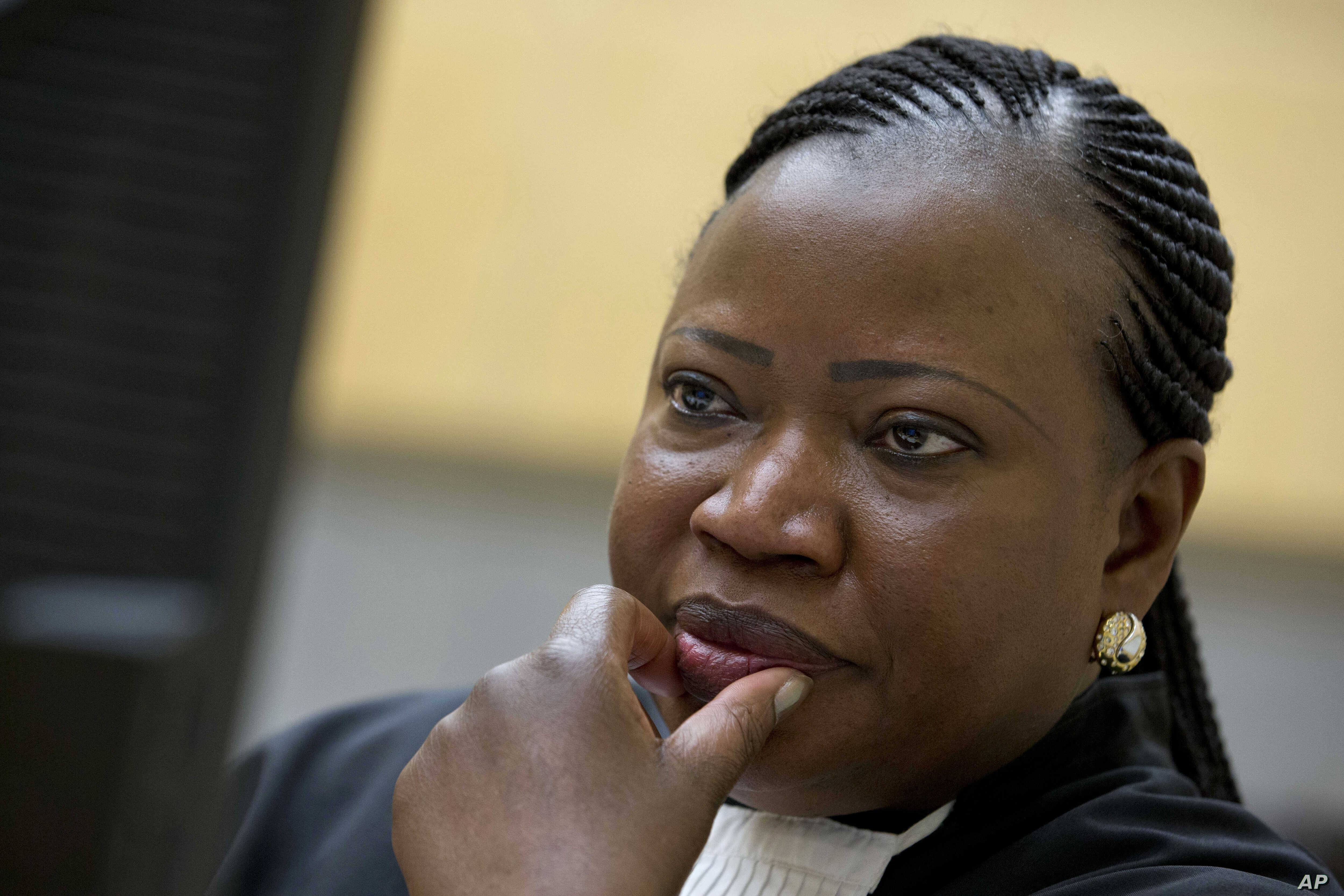 FILE - The ICC prosecutors office, headed by Fatou Bensouda, above, says it will decide soon whether to pursue a full investigation of possible war crimes committed by U.S. forces in Afghanistan in 2003 and 2004,