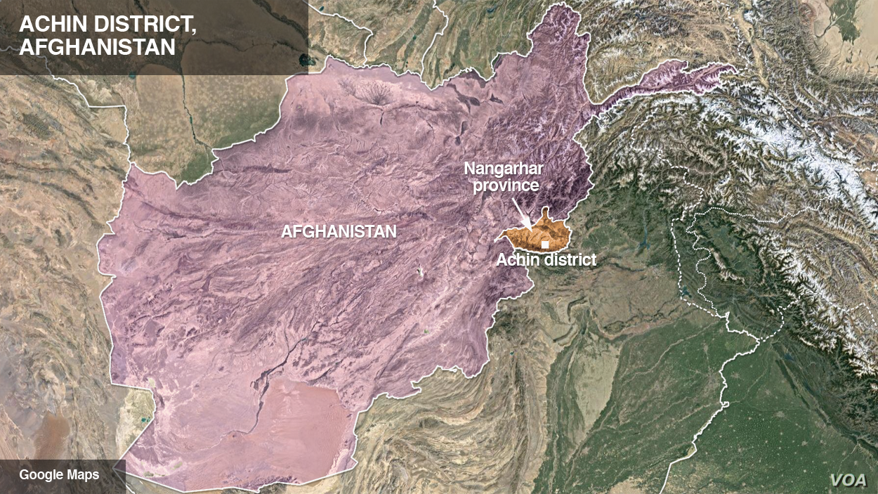 Achin district, Afghanistan