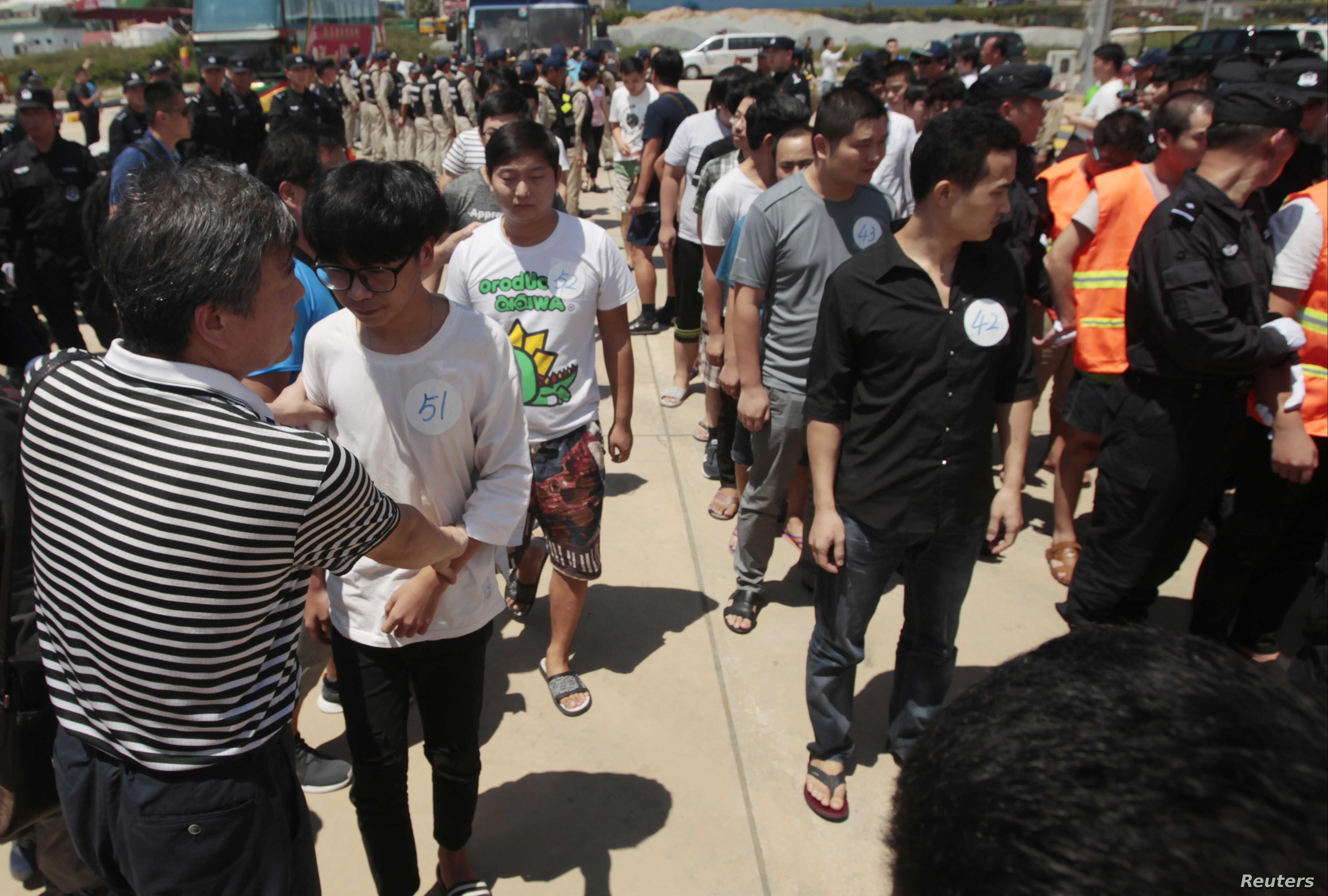 More Than 200 Chinese Arrested in Cambodia for Online Scams