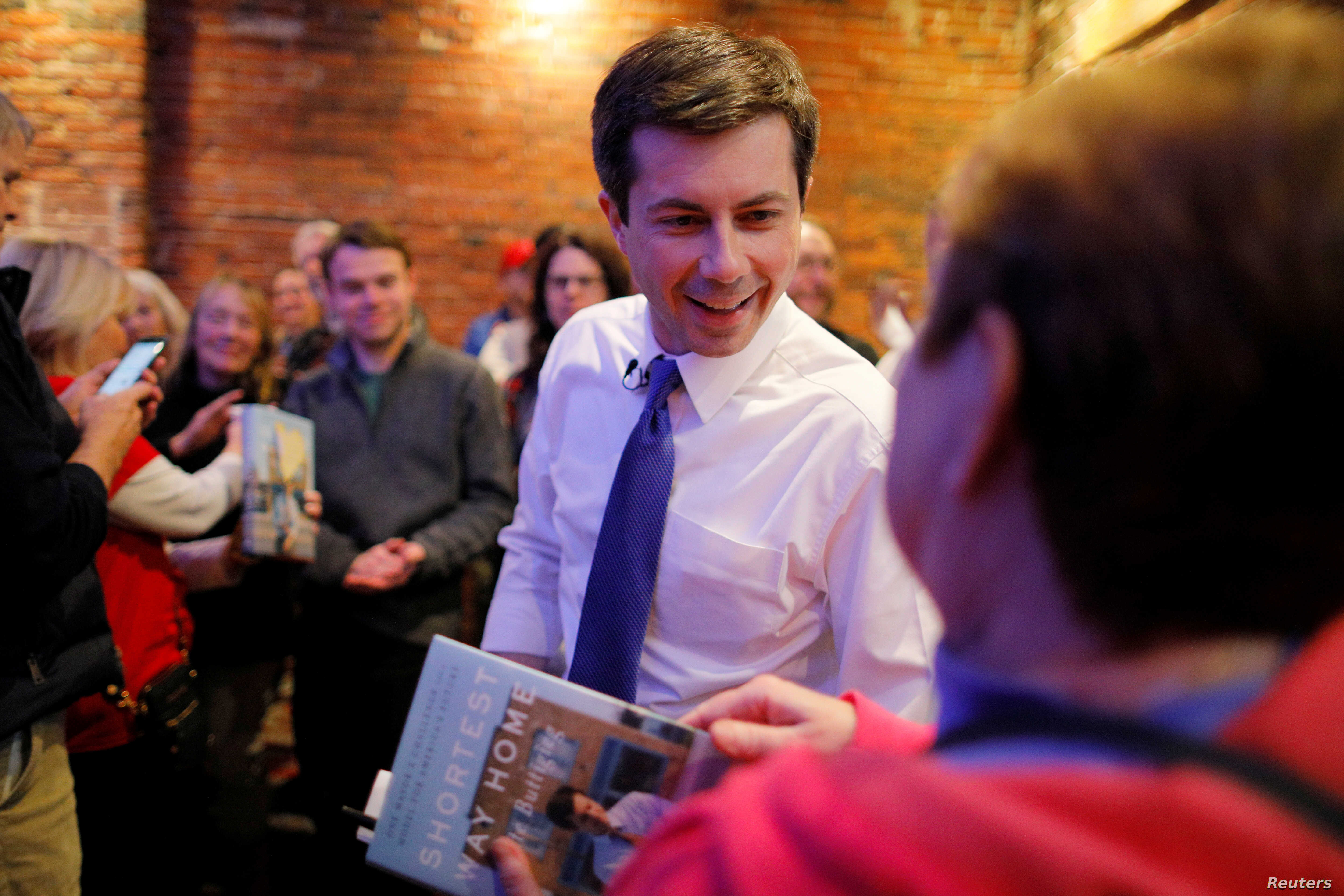 A 37-Year-Old Indiana Mayor is Surging in the Democratic