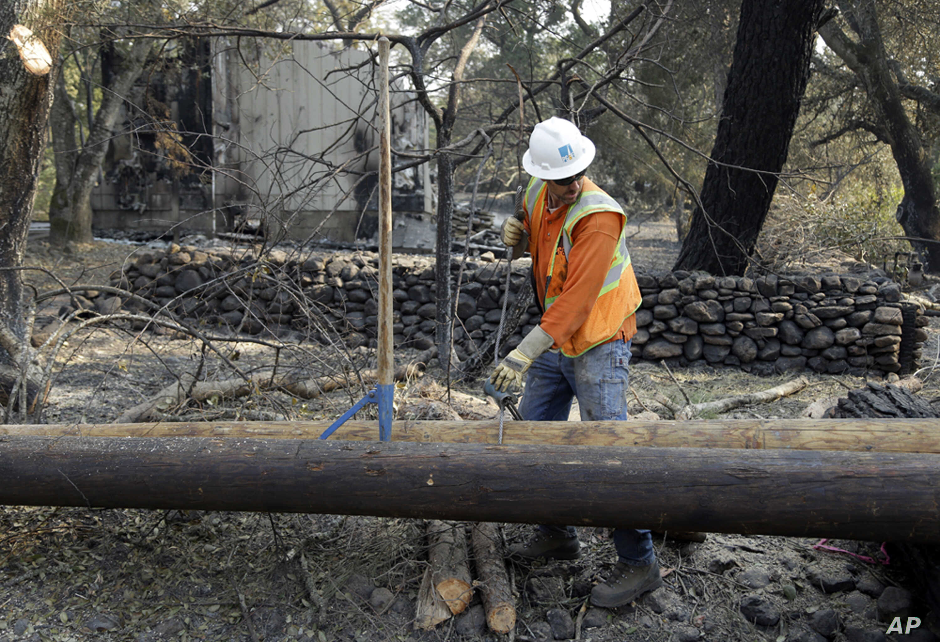 Southern California Electric >> Report Power Lines Sparked Massive Southern California Fire Voice