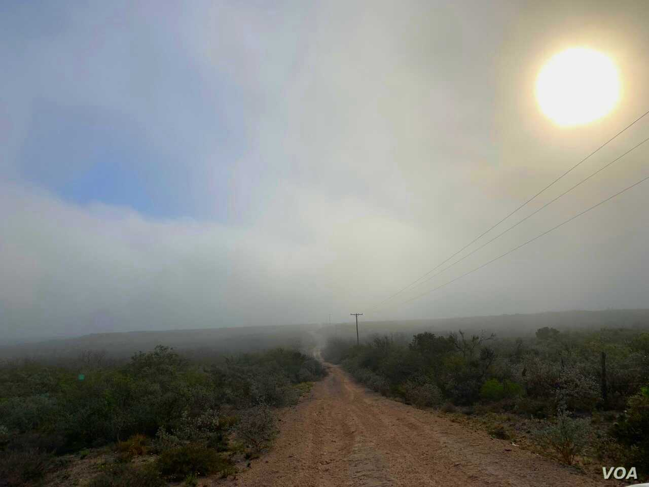 """The sun sets over """"the 605,"""" acreage in Thompsonville, Texas, which the Indigenous Peyote Conservation purchased in 2018 for the conservation of peyote, a sacrament of the Native American Church."""