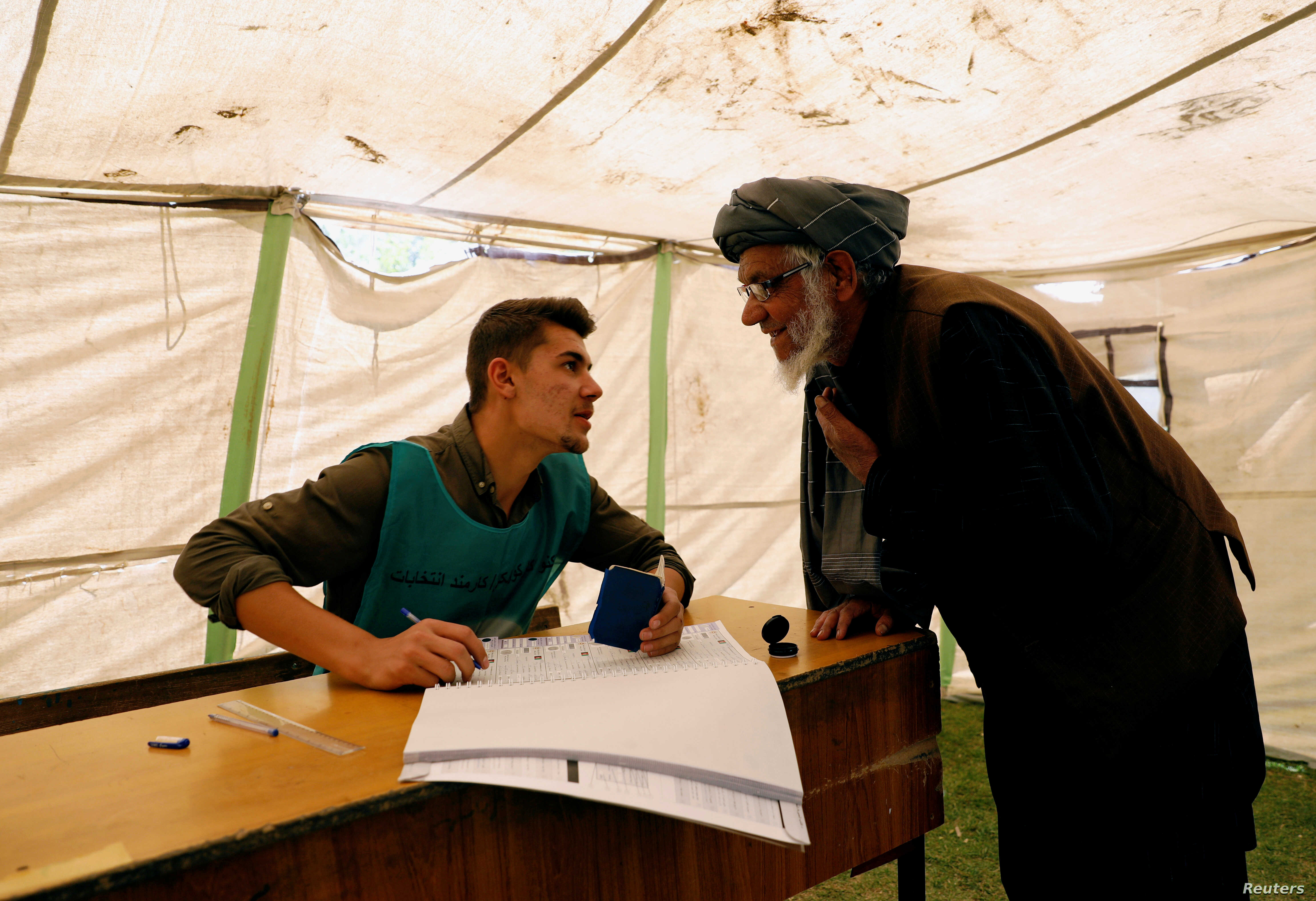 Fears of Low Voter Turnout in Afghanistan Over Security