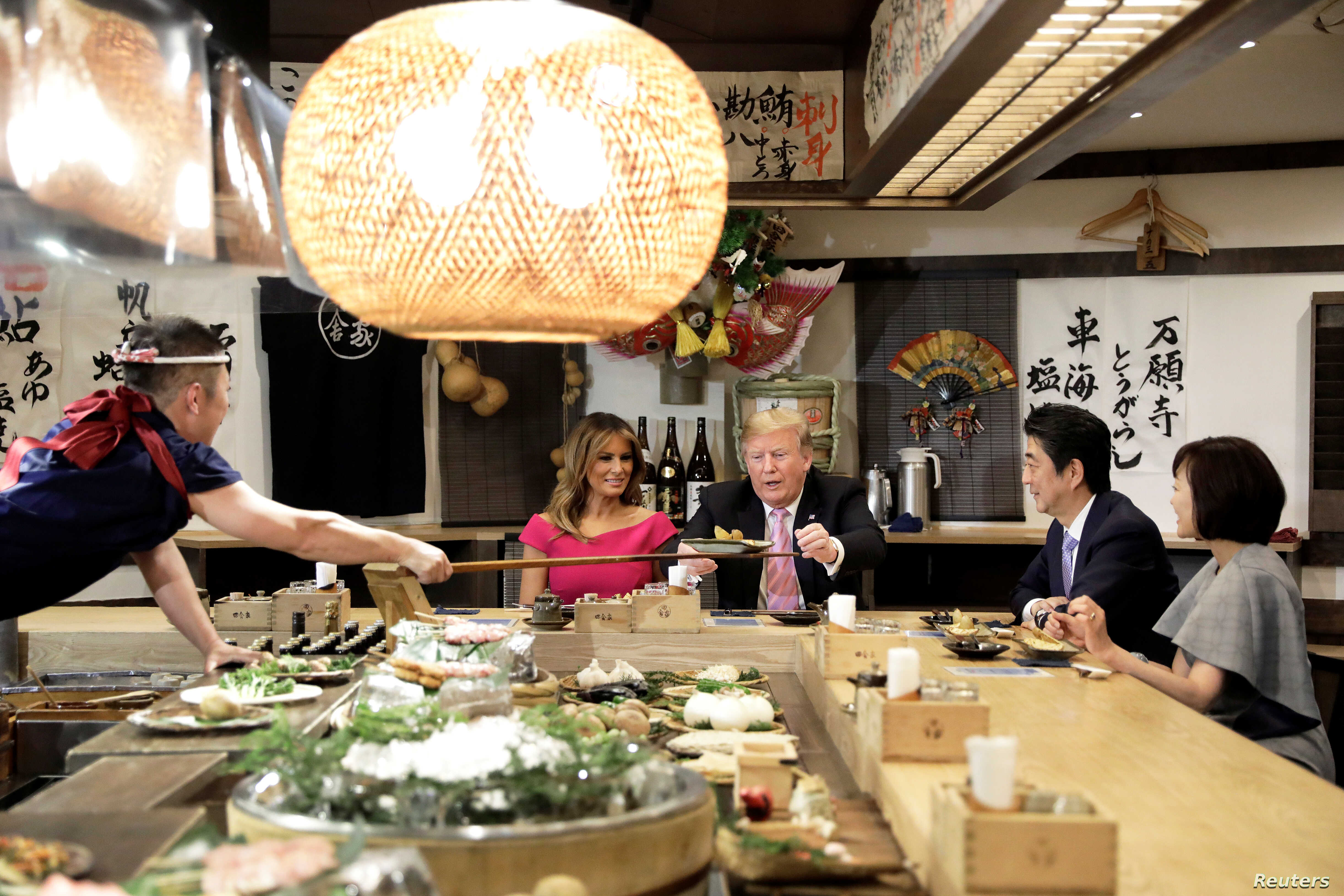 Trump: Japan-Mediated Iran Talks 'Would Be Fine' | Voice of