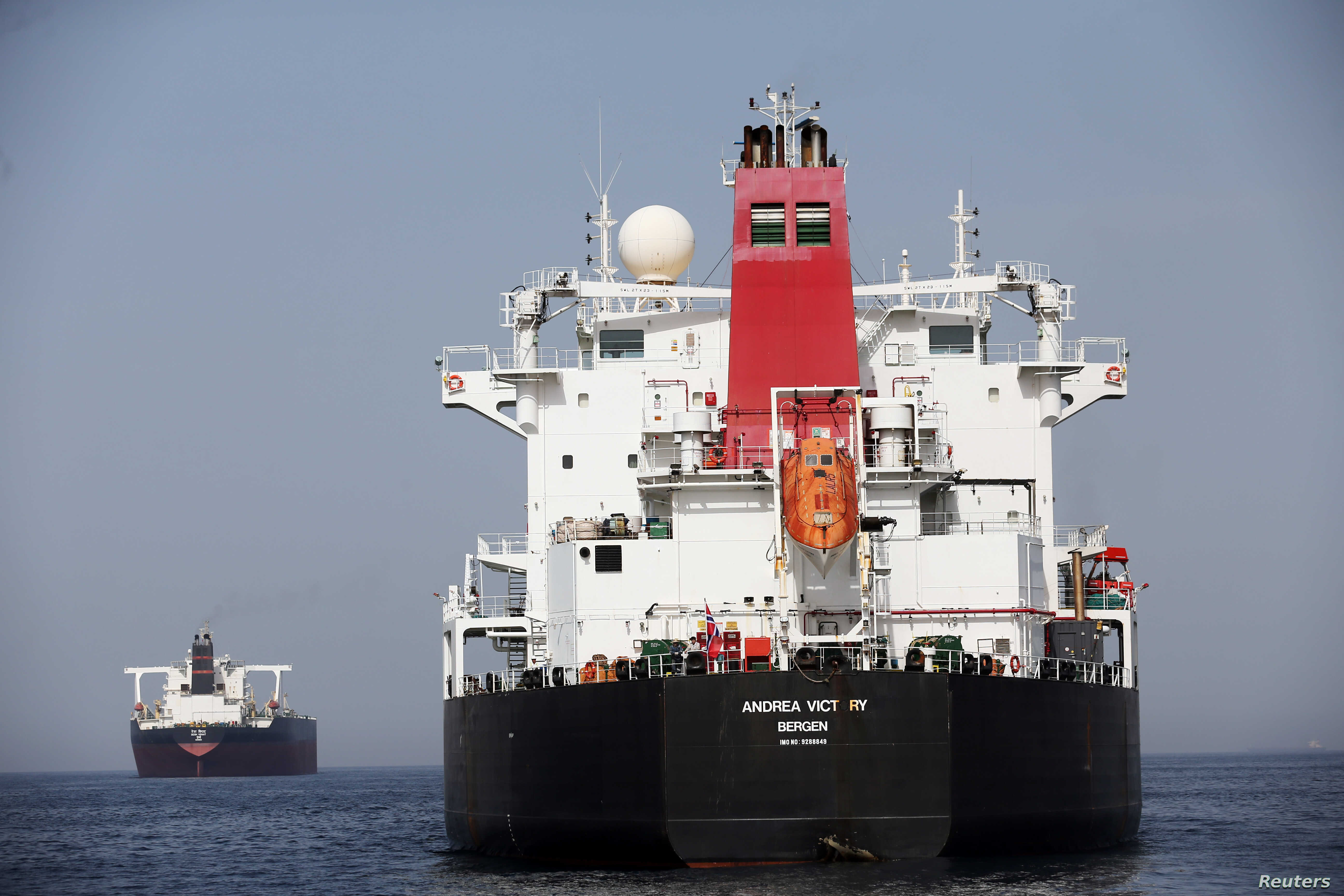US Official: Explosives Blew Holes in Ships off UAE | Voice ...