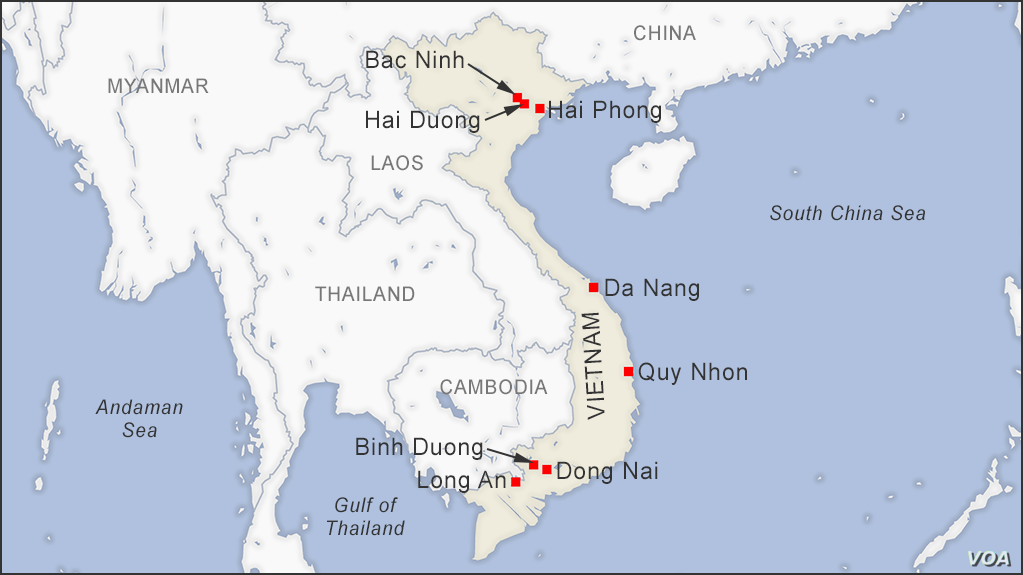Rise of Vietnam\'s Second-Tier Cities   Voice of America ...