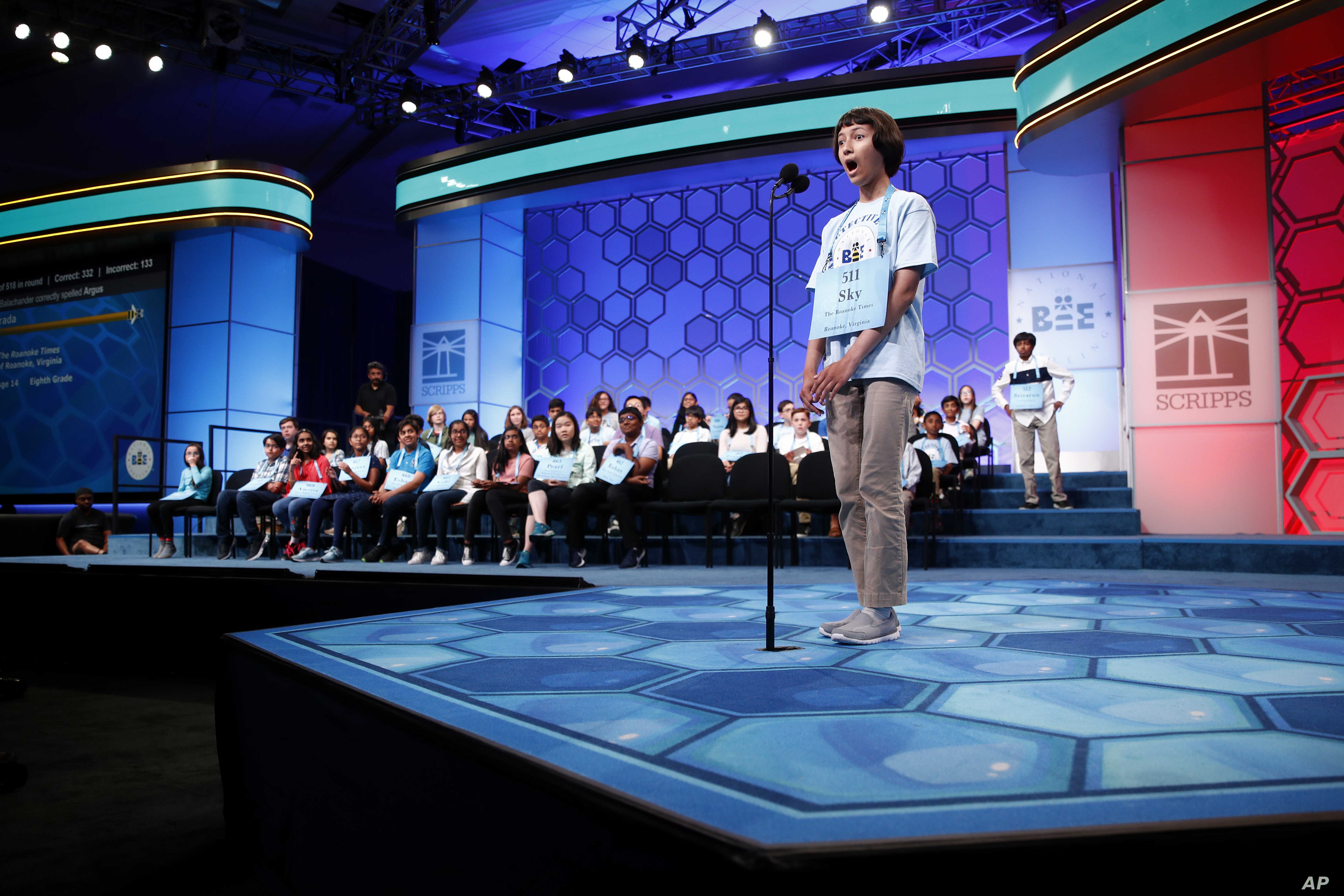 Word Whiz Kids Tap Memory Tricks at Spelling Bee | Voice of