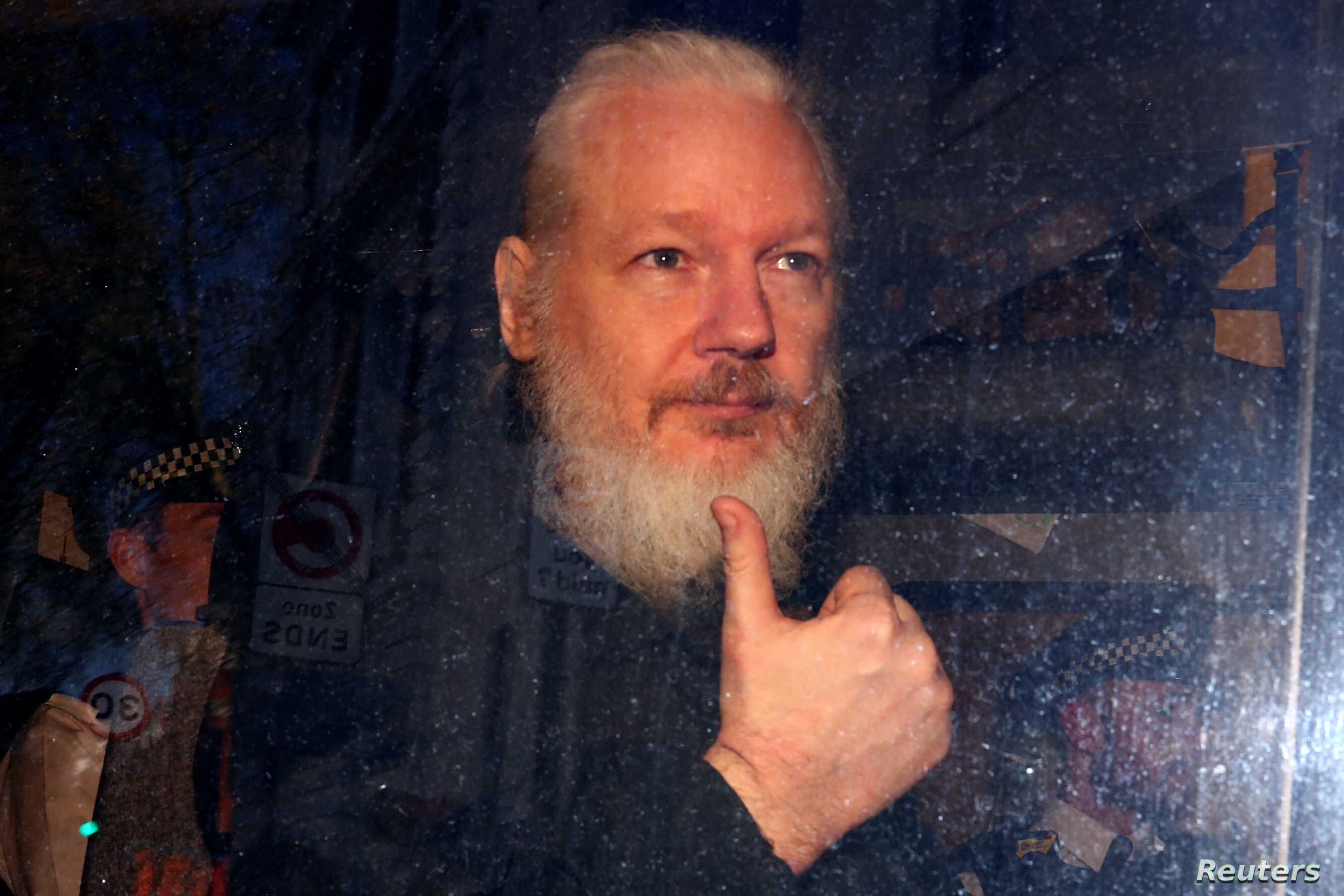 U.S. submits extradition request for WikiLeaks founder Julian Assange