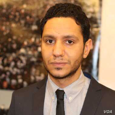 Sayed Ahmed Alwadaei is seen in an undated photo from his Twitter profile - @SAlwadaei.