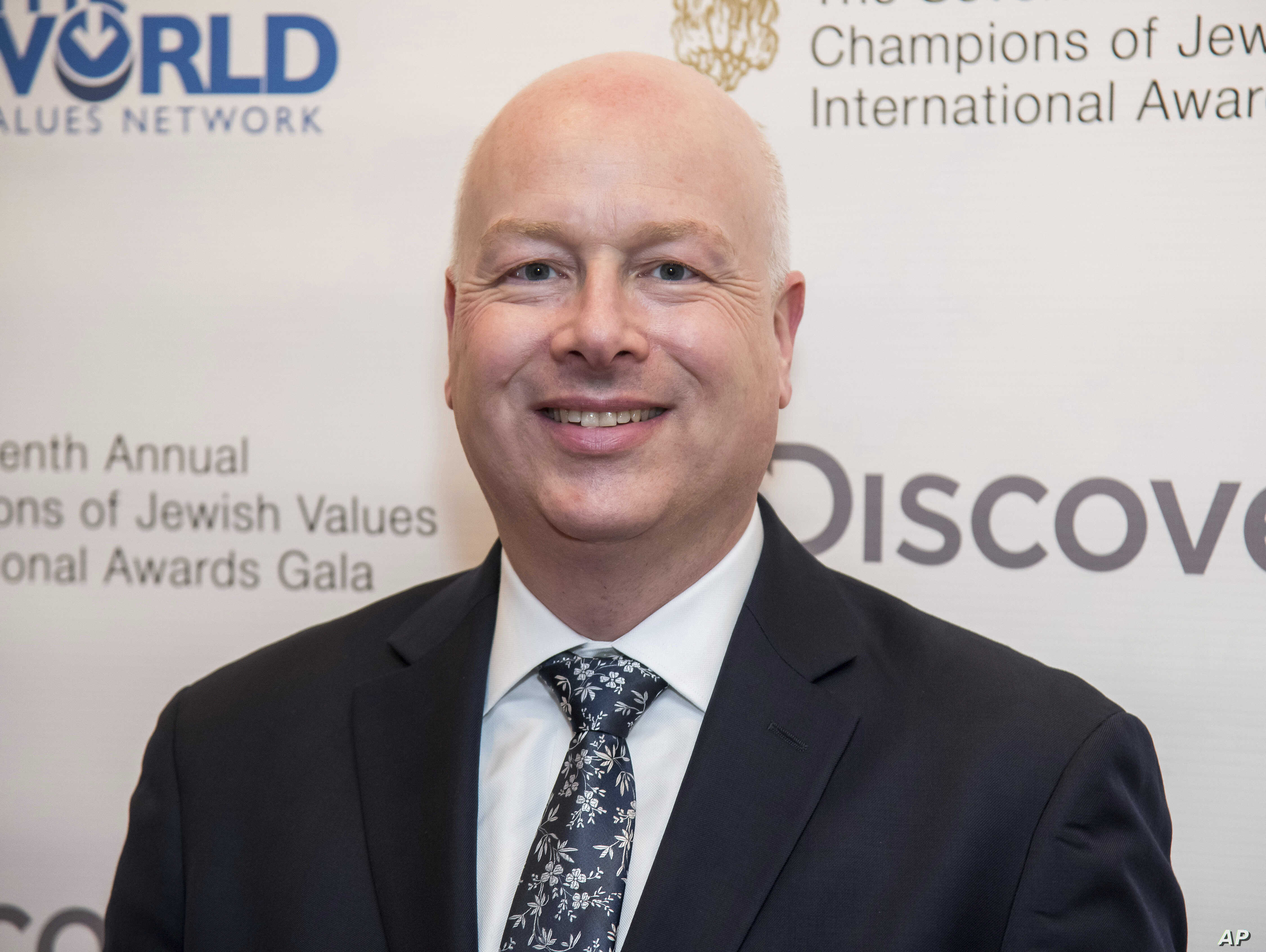 Jason Greenblatt attends the Champions of Jewish Values International Awards gala at Carnegie Hall, March 28, 2019, in New York.