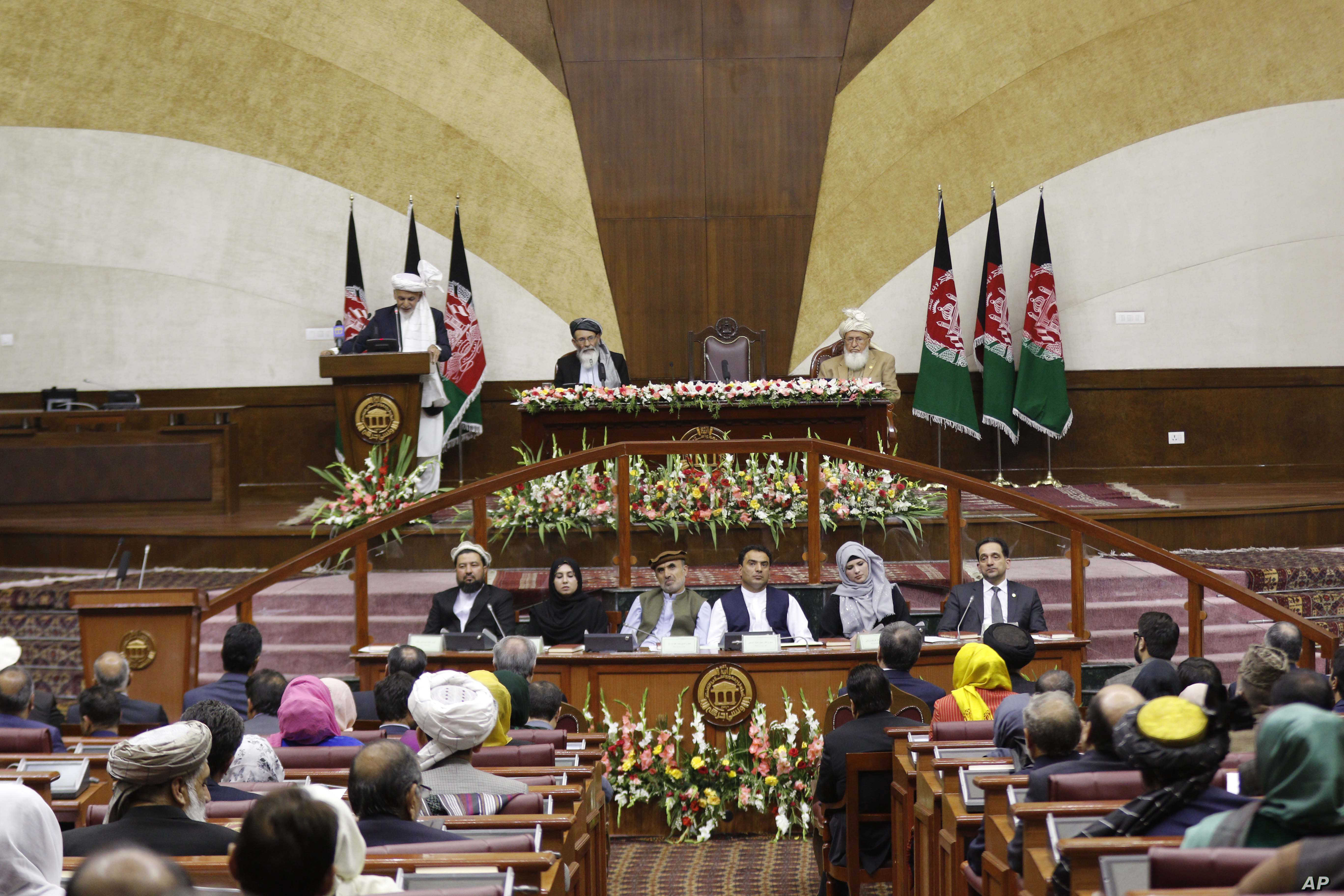Ghani Inaugurates New Afghan Parliament | Voice of America