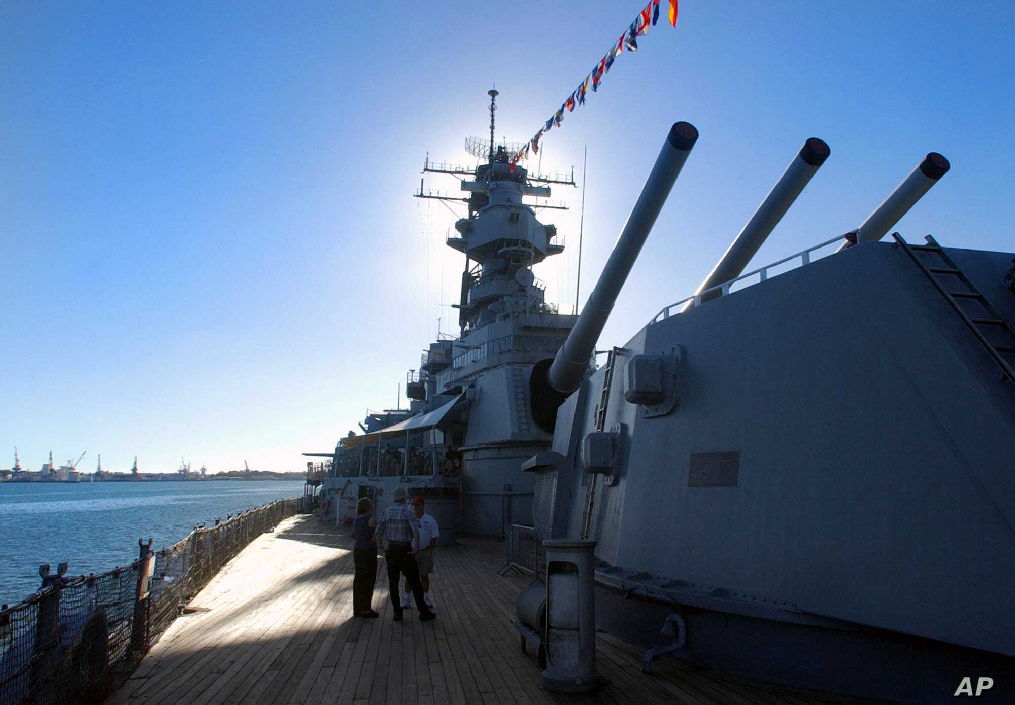 USS Missouri Undergoes Restoration Ahead of War Anniversary