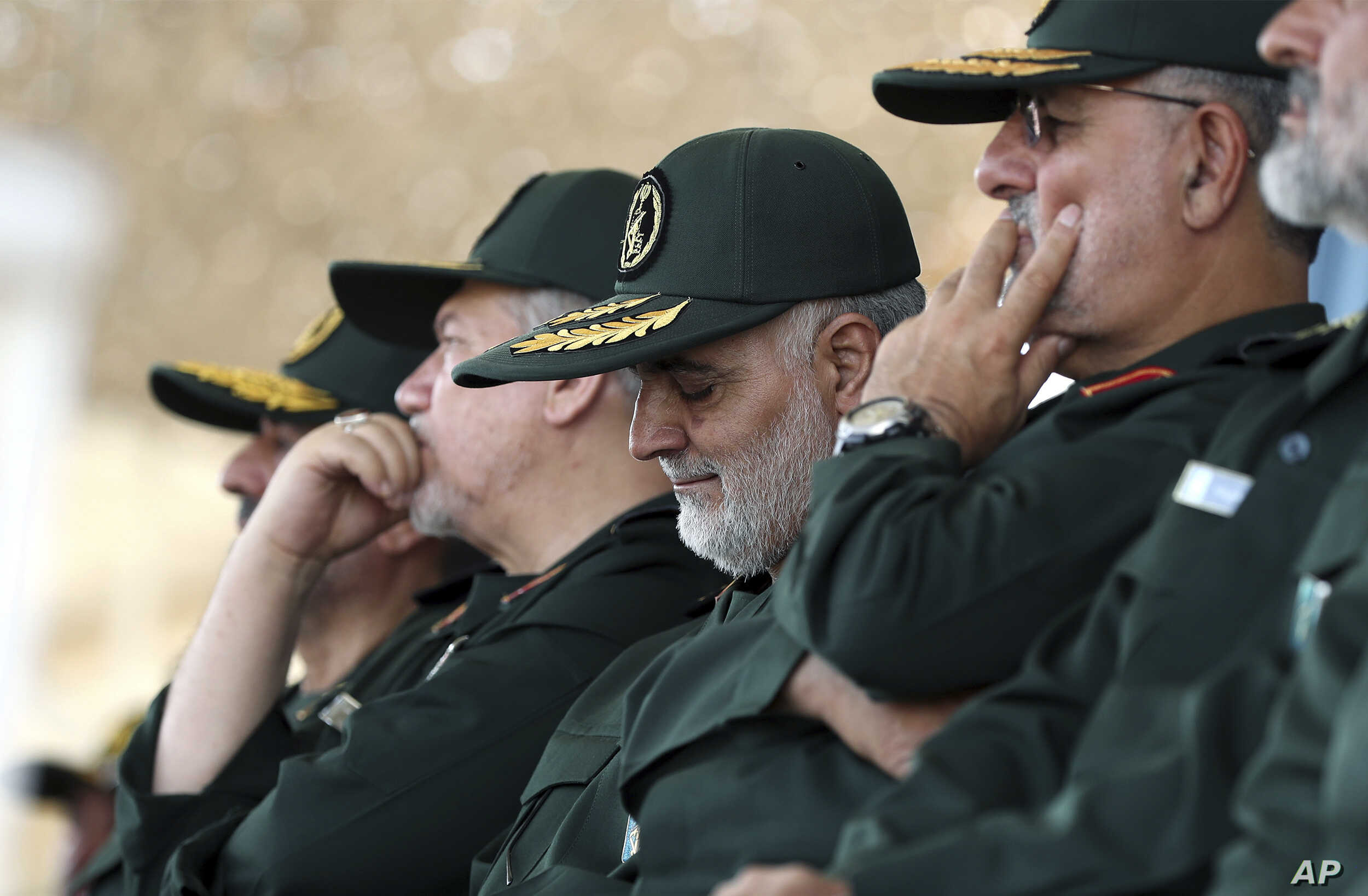 Instagram Blocks Iranian Guard Commanders' Pages | Voice of