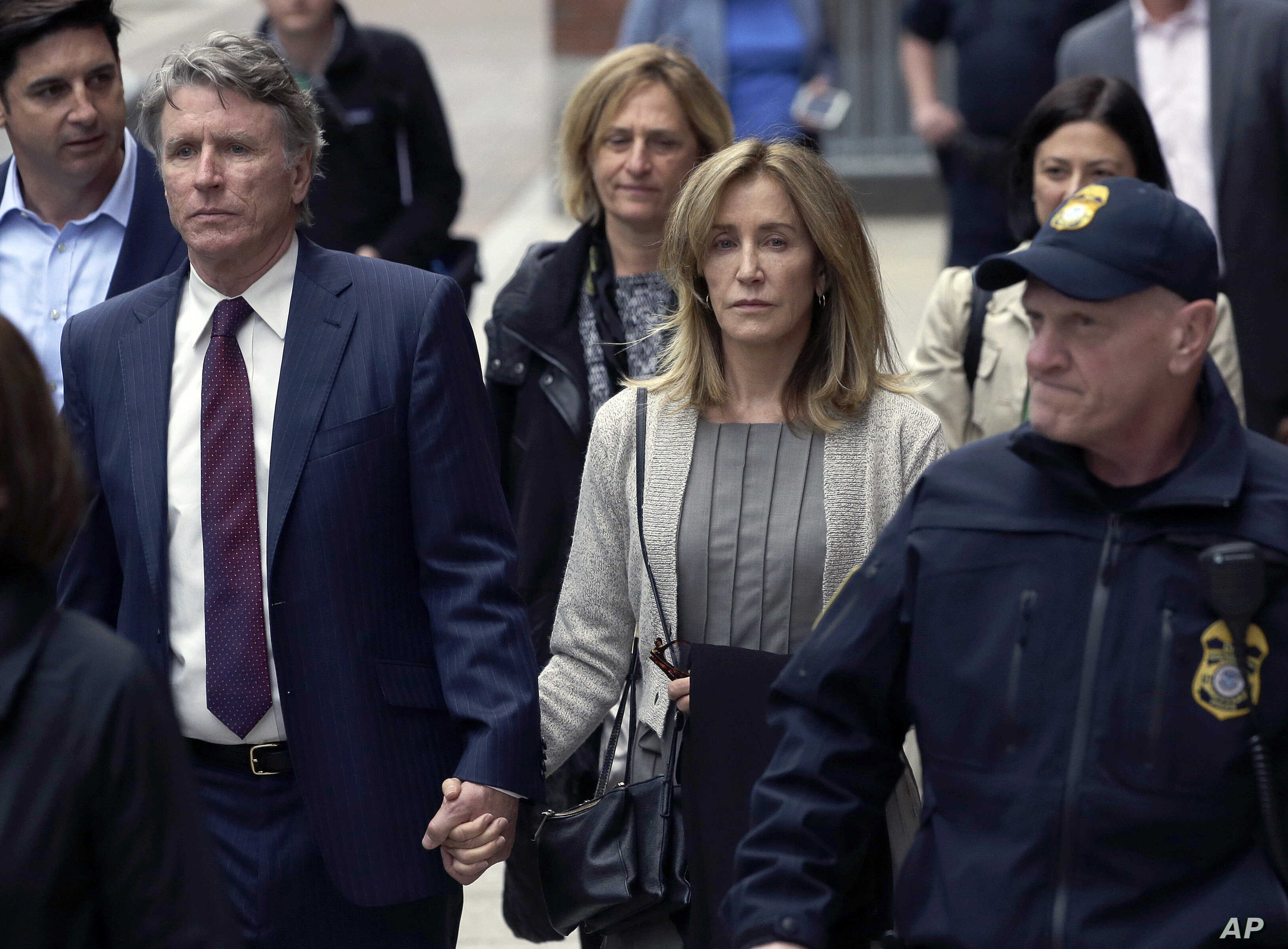Felicity Huffman Pleads Guilty In College Admissions Scheme