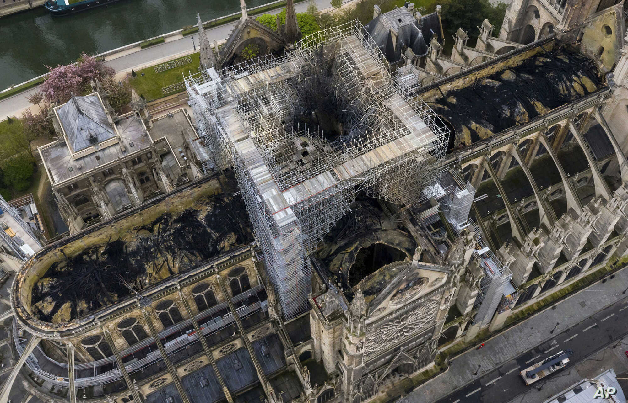 Bells Toll as France Focuses on Repairing Notre Dame | Voice of ...