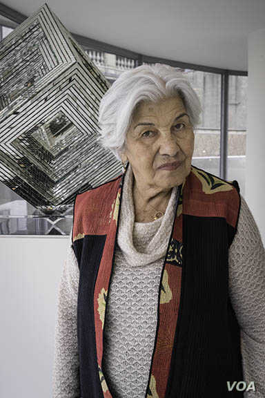 Monir Farmanfarmaian, Prominent Iranian Artist, Dies At 97