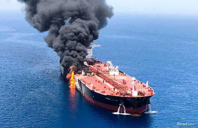 'Nation of terror' Iran was behind tanker attacks, says Trump
